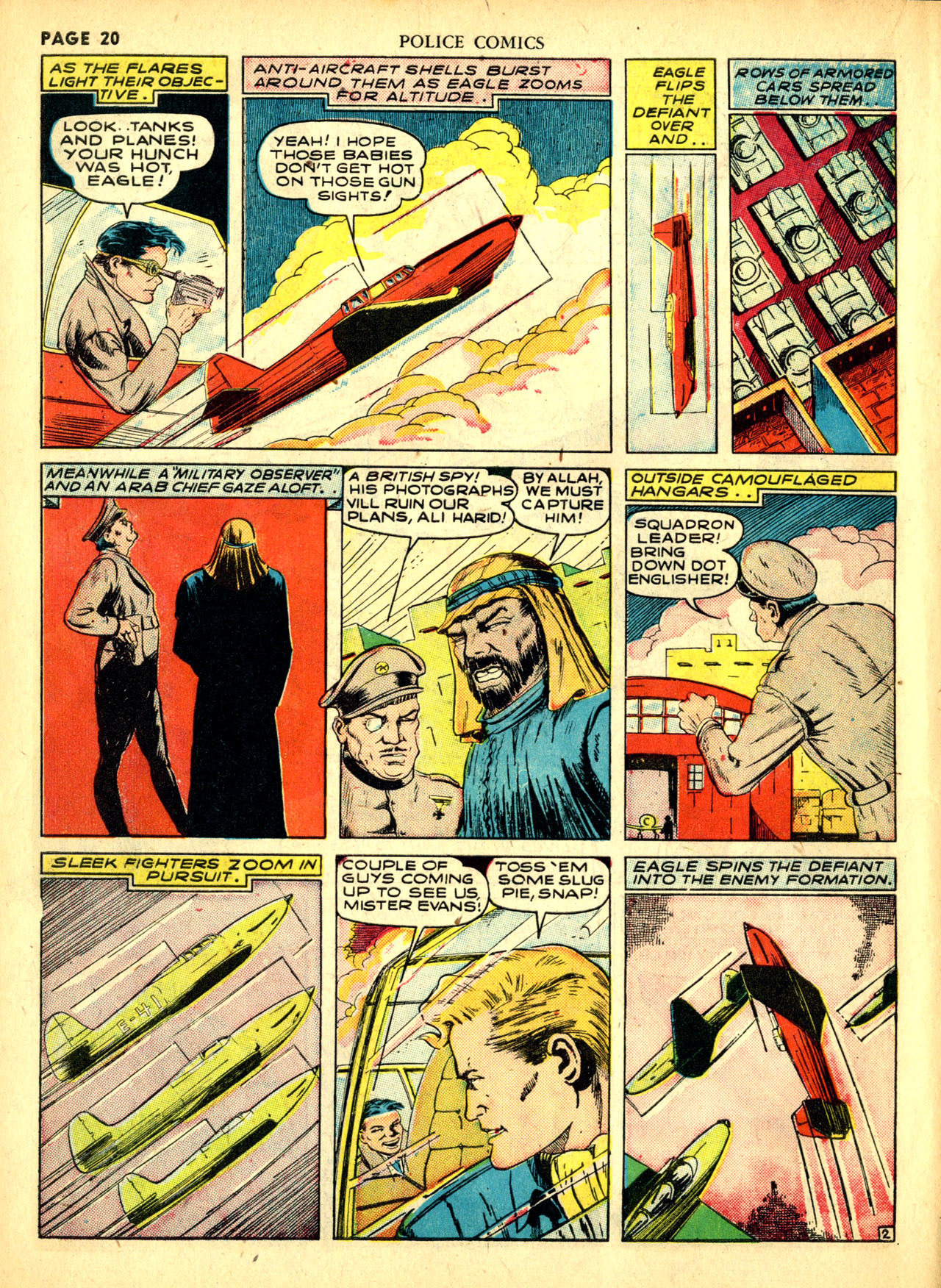 Police Comics #1 #127 - English 23