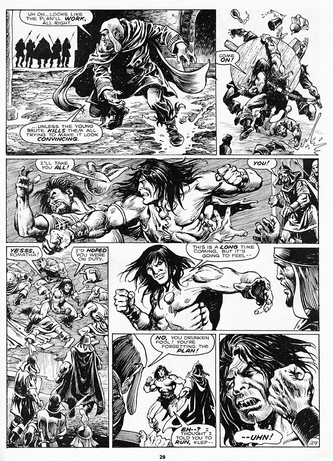 The Savage Sword Of Conan Issue #180 #181 - English 31