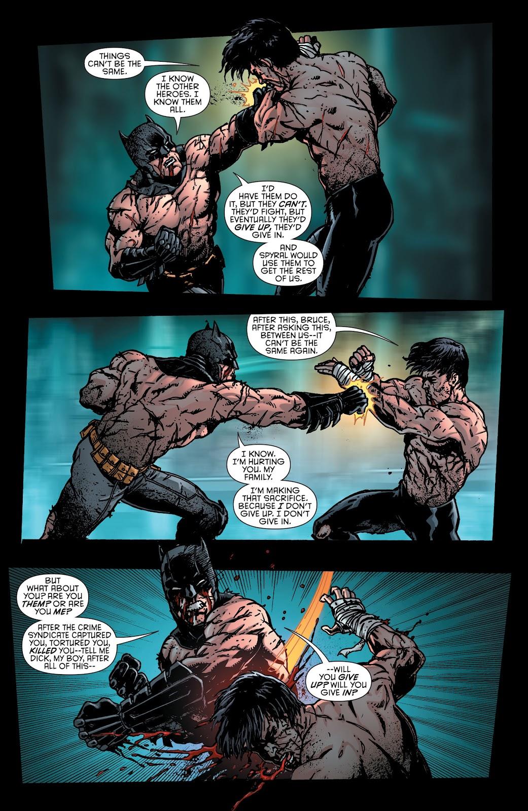 Nightwing (2011) Issue #30 #32 - English 21