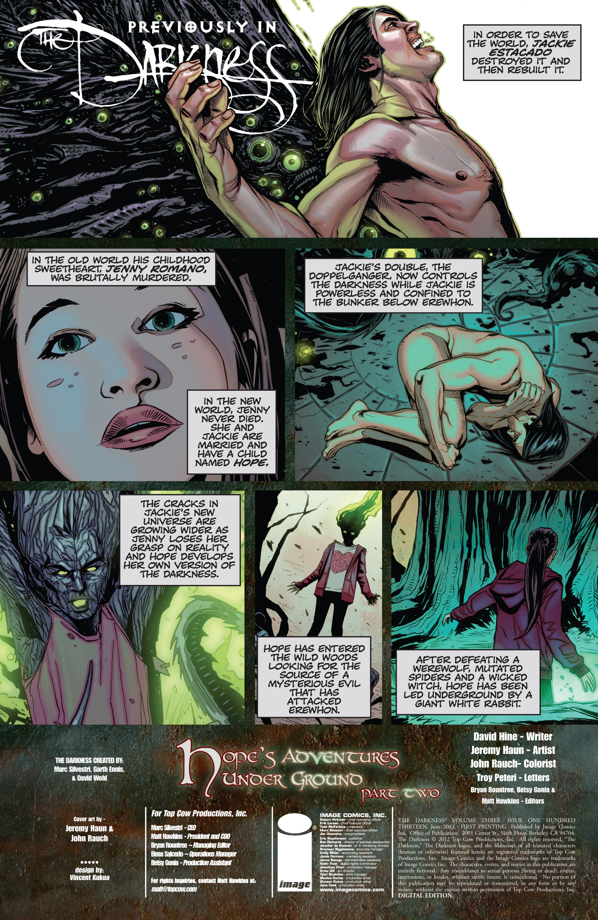 Read online The Darkness (2007) comic -  Issue #113 - 3