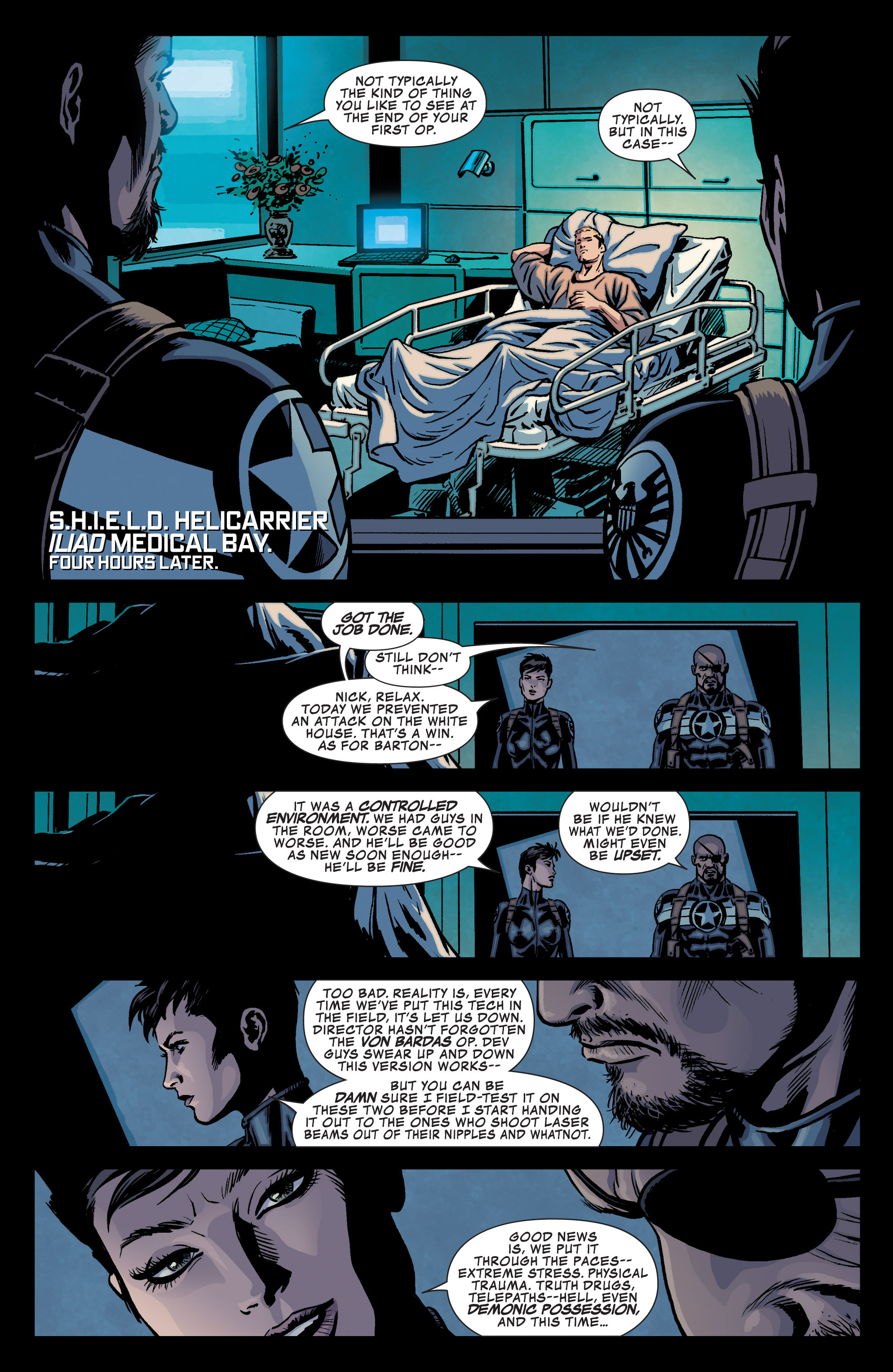 Read online Secret Avengers (2013) comic -  Issue #1 - 22
