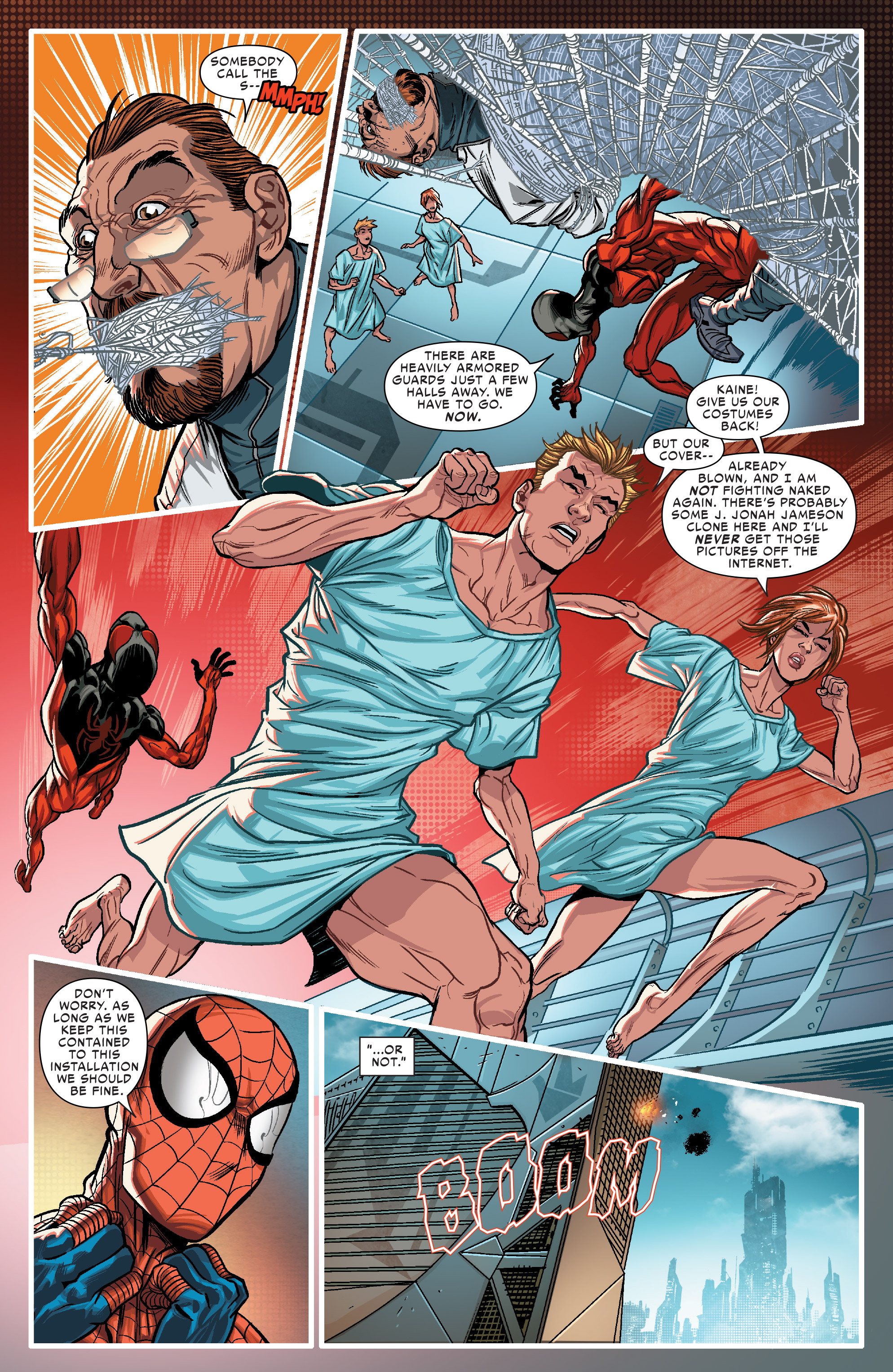 Read online Scarlet Spiders comic -  Issue #1 - 8