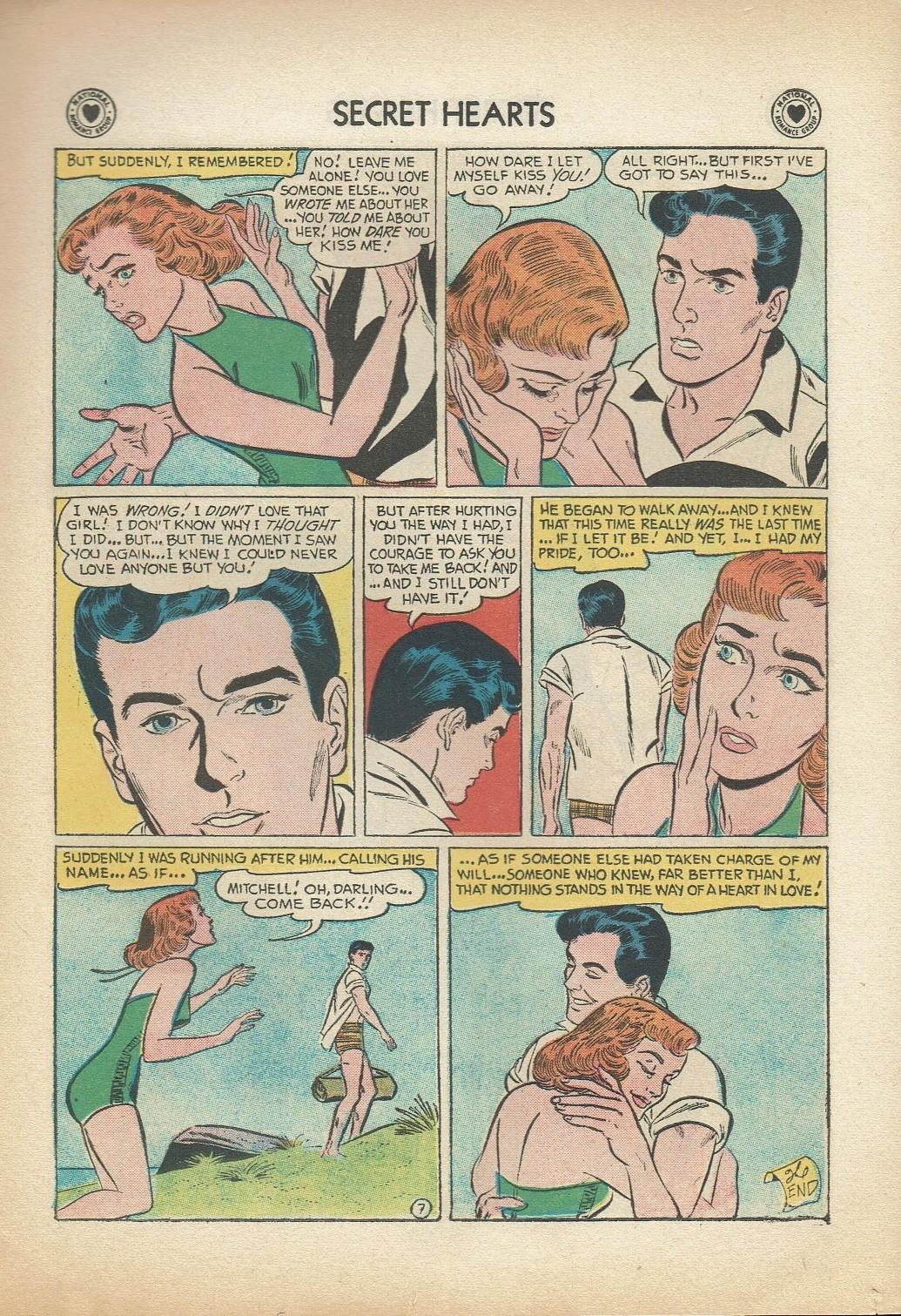 Read online Secret Hearts comic -  Issue #47 - 17