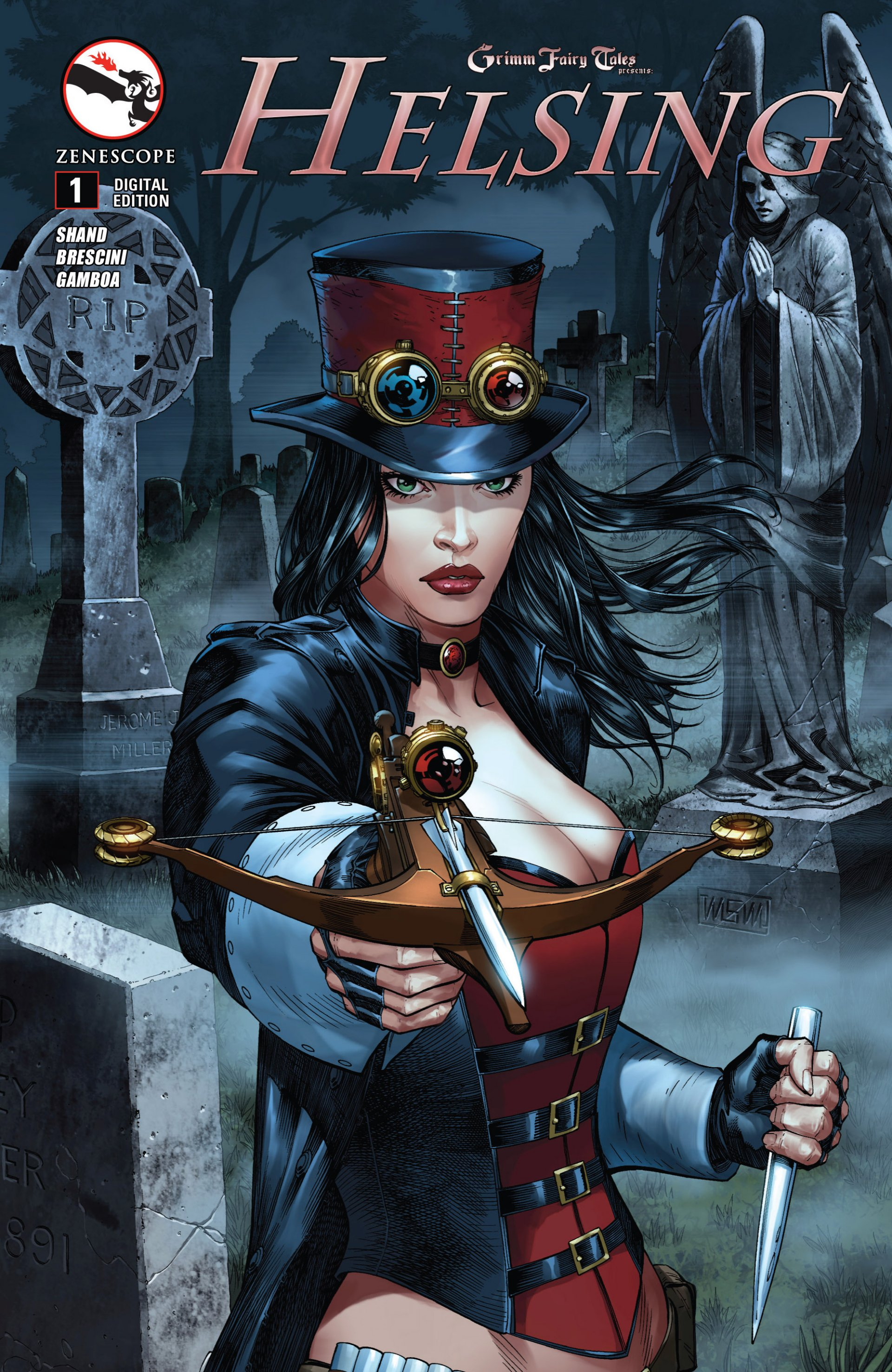 Grimm Fairy Tales presents Helsing 1 Page 1