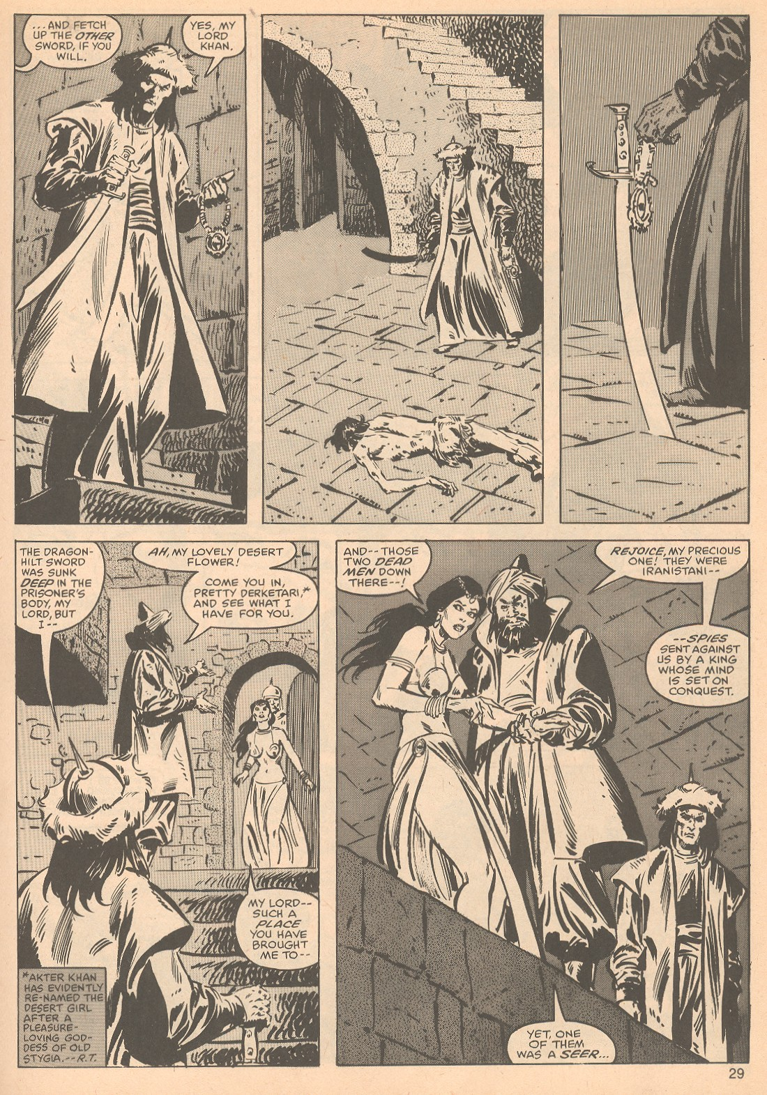 The Savage Sword Of Conan Issue #56 #57 - English 29