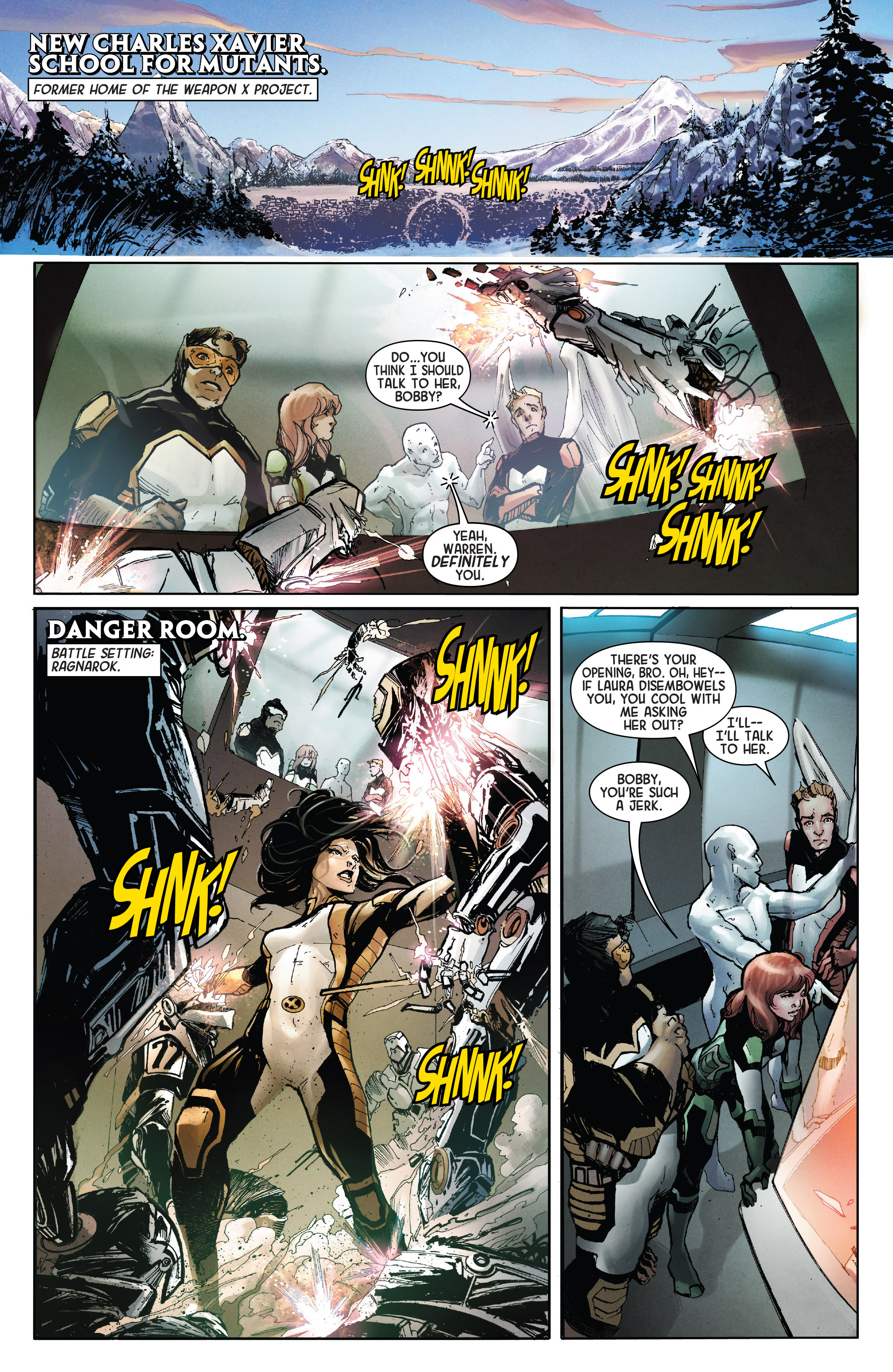 Death Of Wolverine The Logan Legacy 2 Page 3