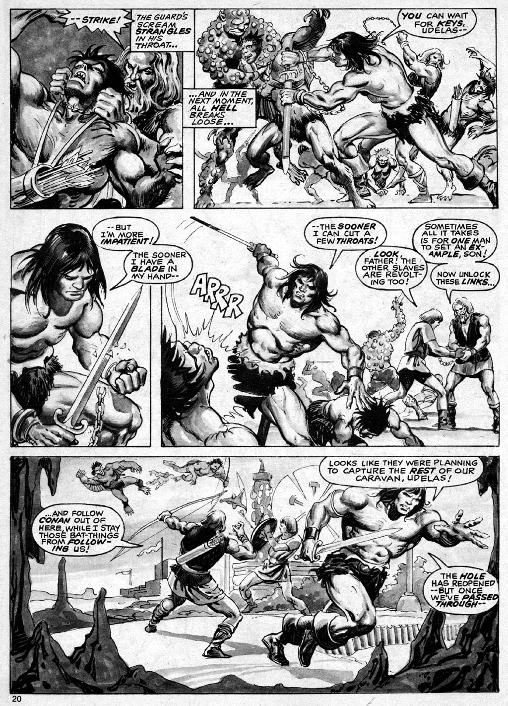 The Savage Sword Of Conan Issue #69 #70 - English 20