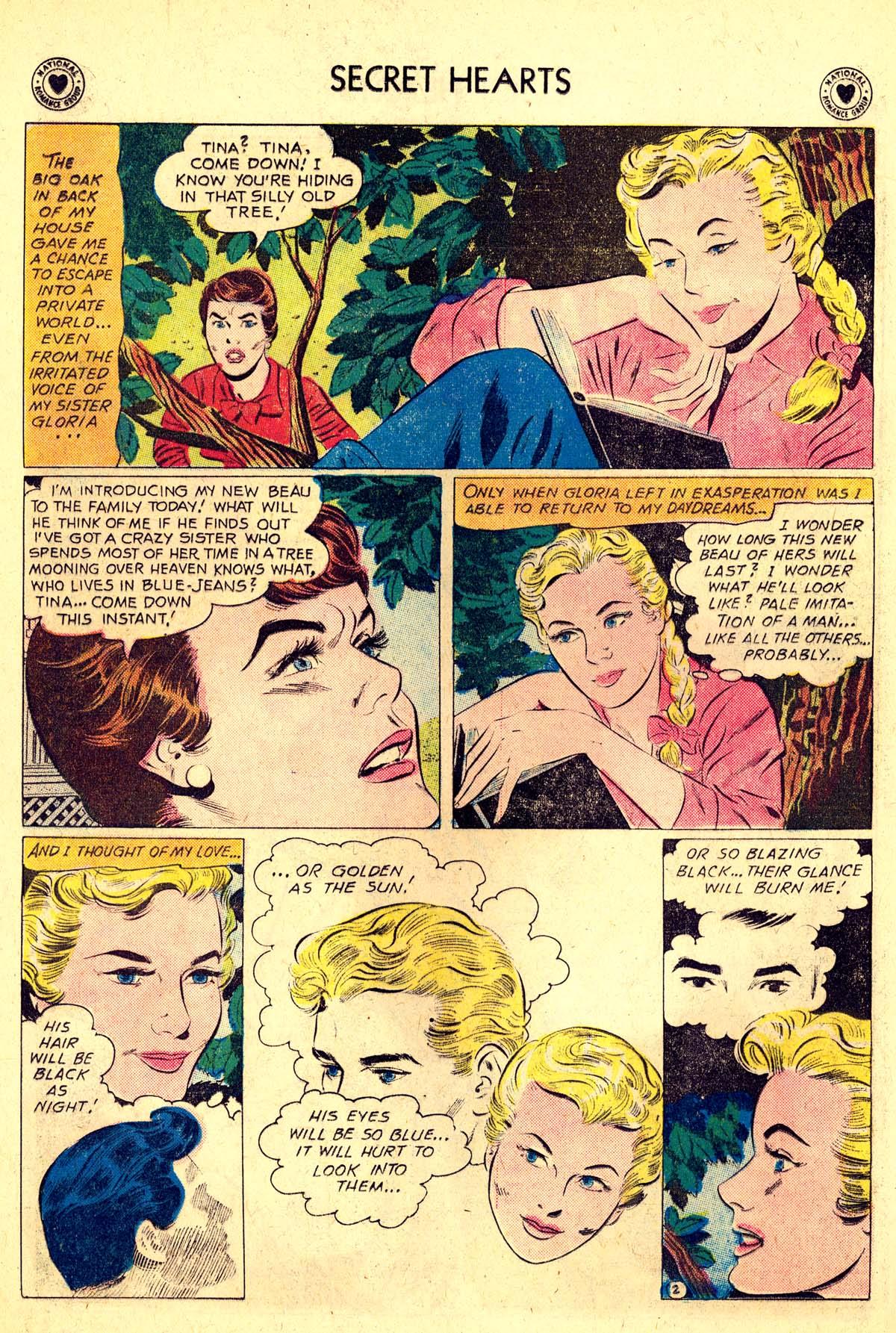 Read online Secret Hearts comic -  Issue #64 - 28