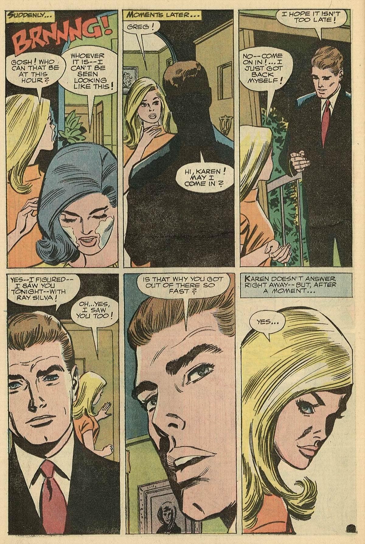 Read online Secret Hearts comic -  Issue #125 - 26