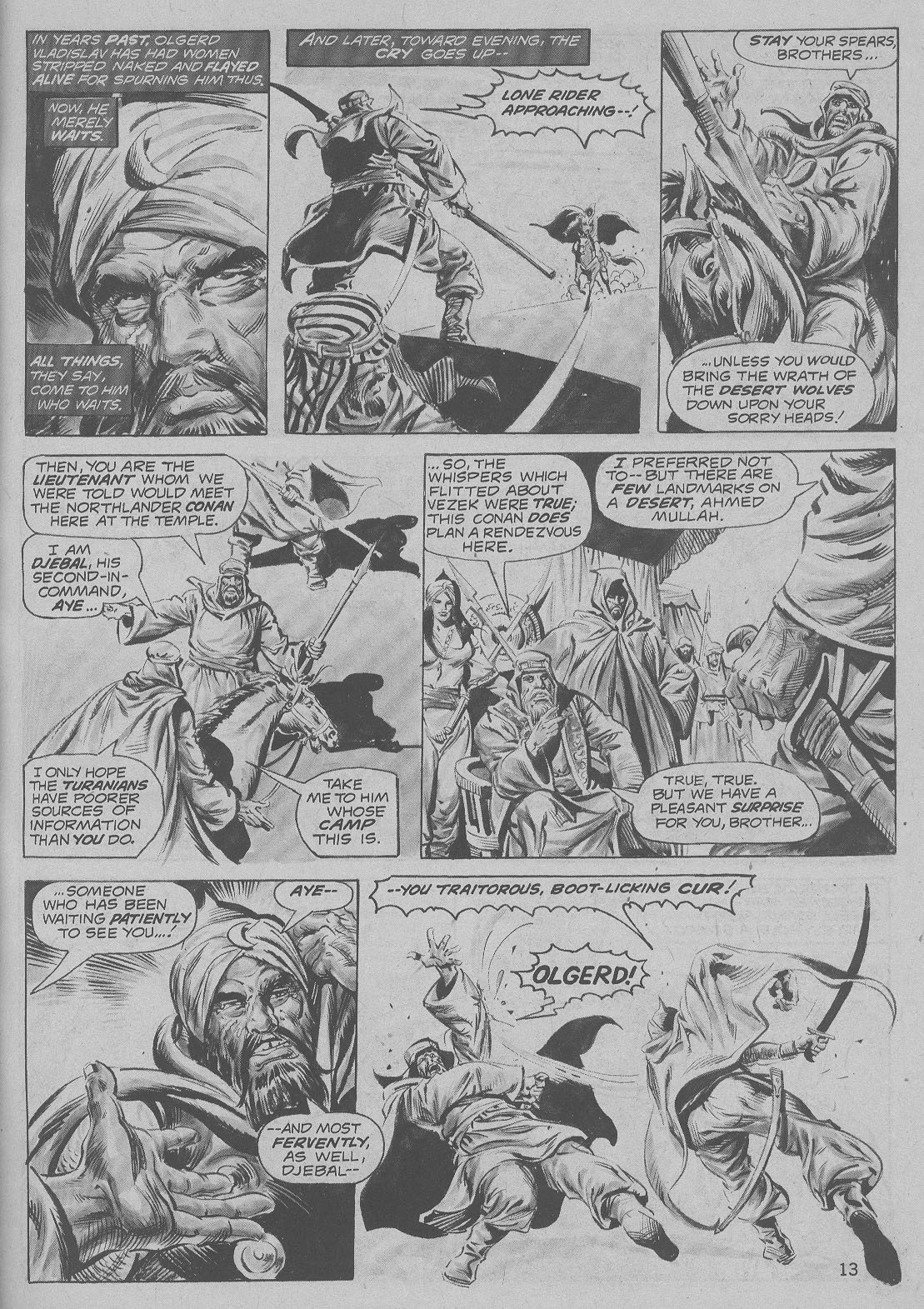 The Savage Sword Of Conan Issue #6 #7 - English 13