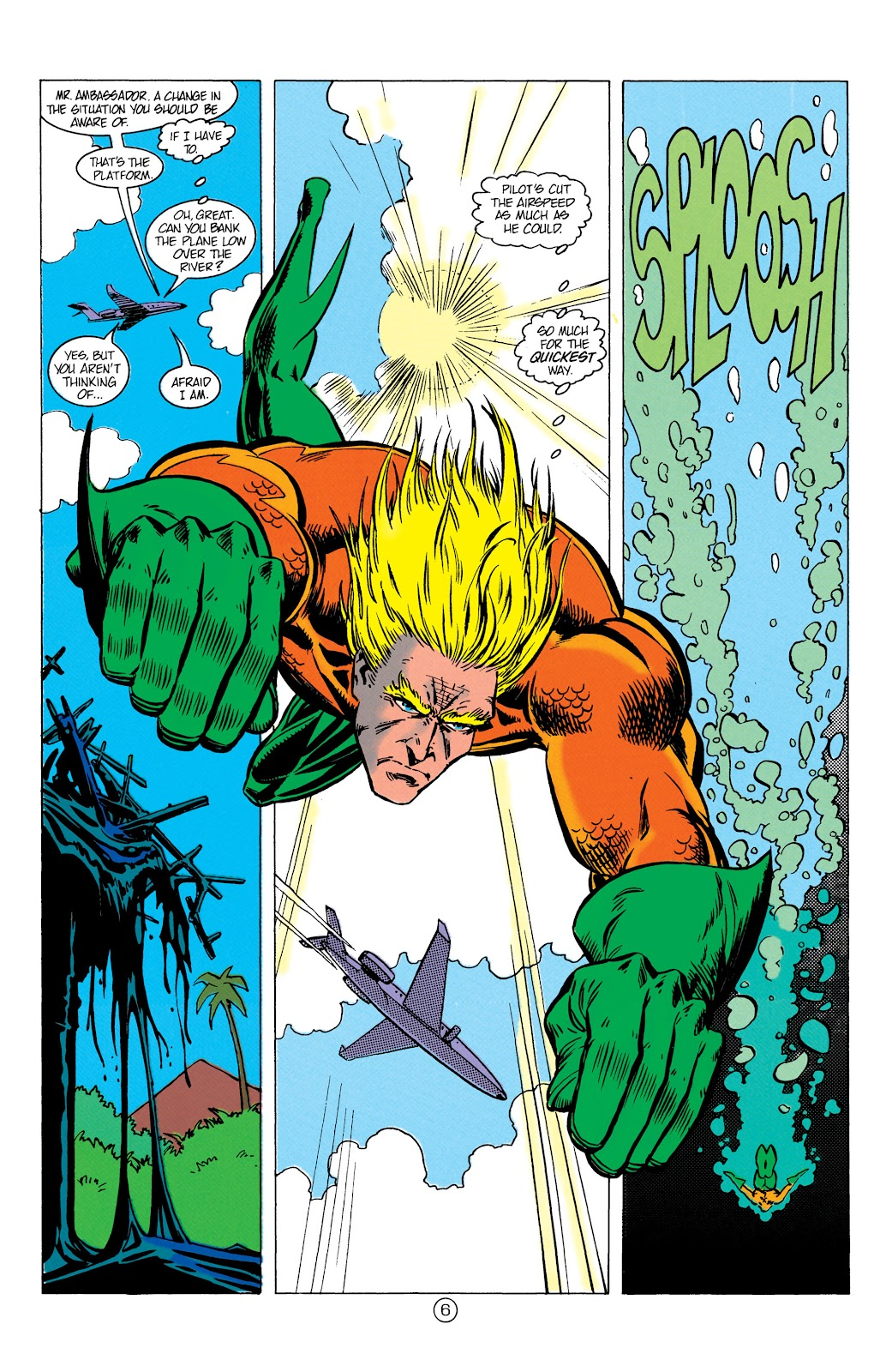 Aquaman (1991) Issue #9 #9 - English 7