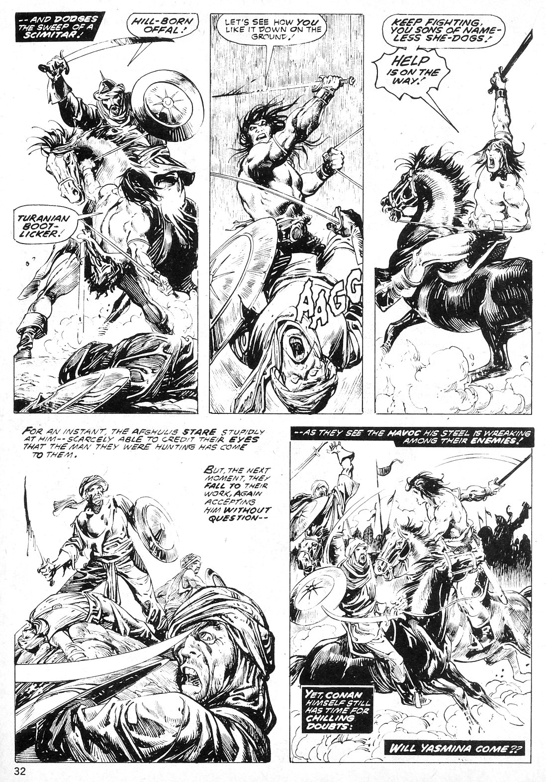 The Savage Sword Of Conan Issue #19 #20 - English 32