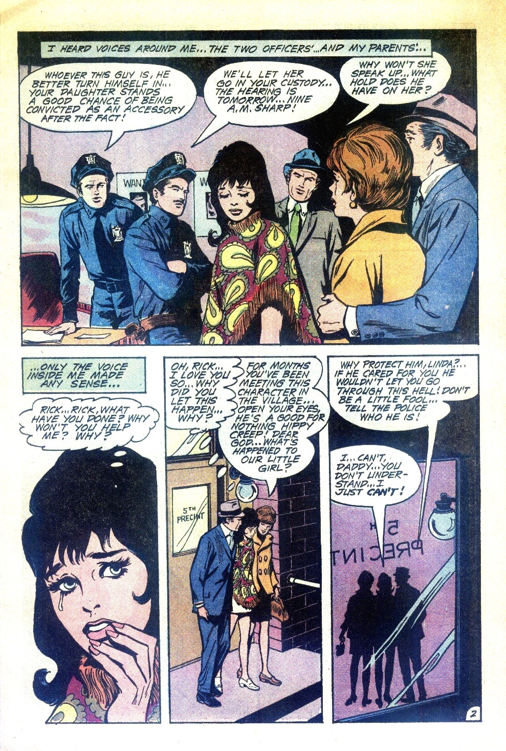 Read online Secret Hearts comic -  Issue #148 - 5
