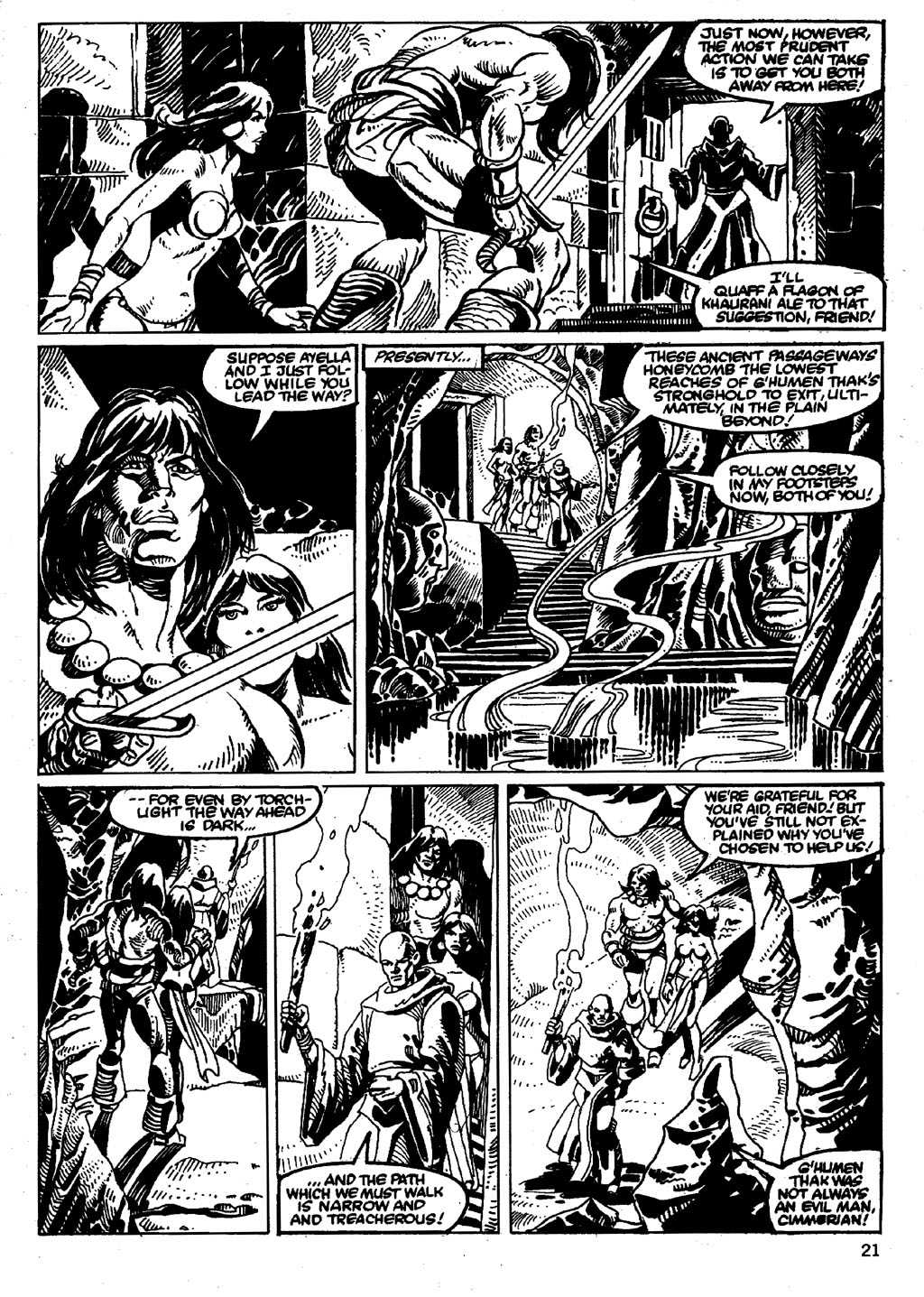 The Savage Sword Of Conan Issue #86 #87 - English 21