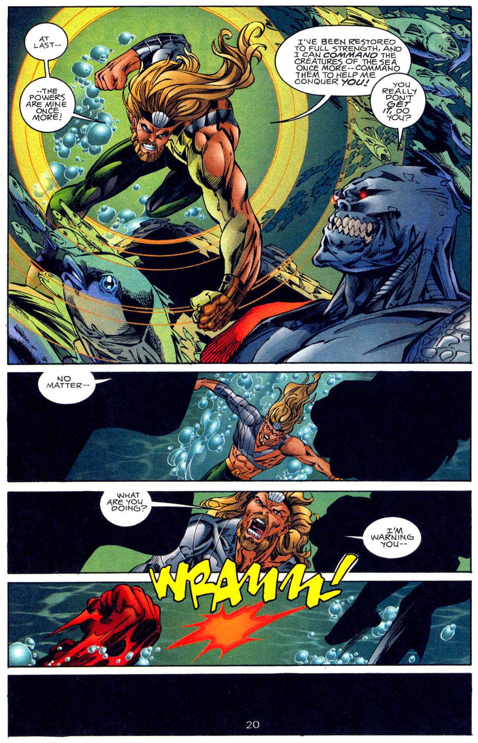 Aquaman (1994) Issue #62 #68 - English 21