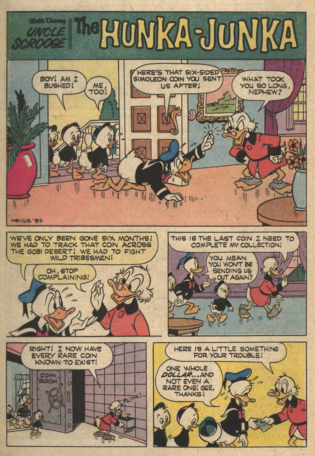 Uncle Scrooge (1953) Issue #164 #164 - English 26