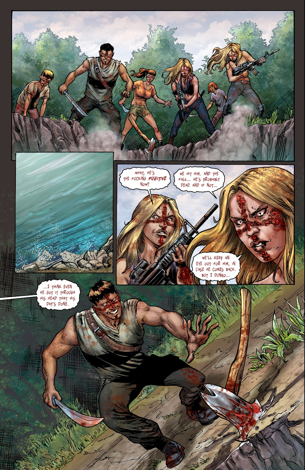 Crossed: Badlands Issue #100 #103 - English 21