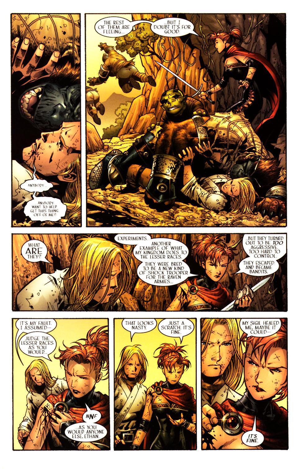 Read online Scion comic -  Issue #15 - 19