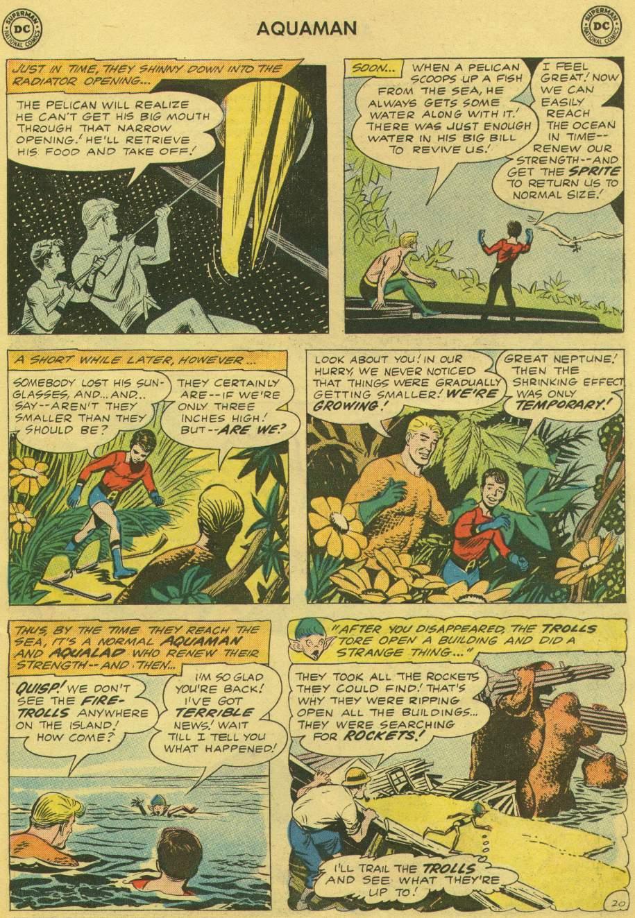 Read online Aquaman (1962) comic -  Issue #1 - 27
