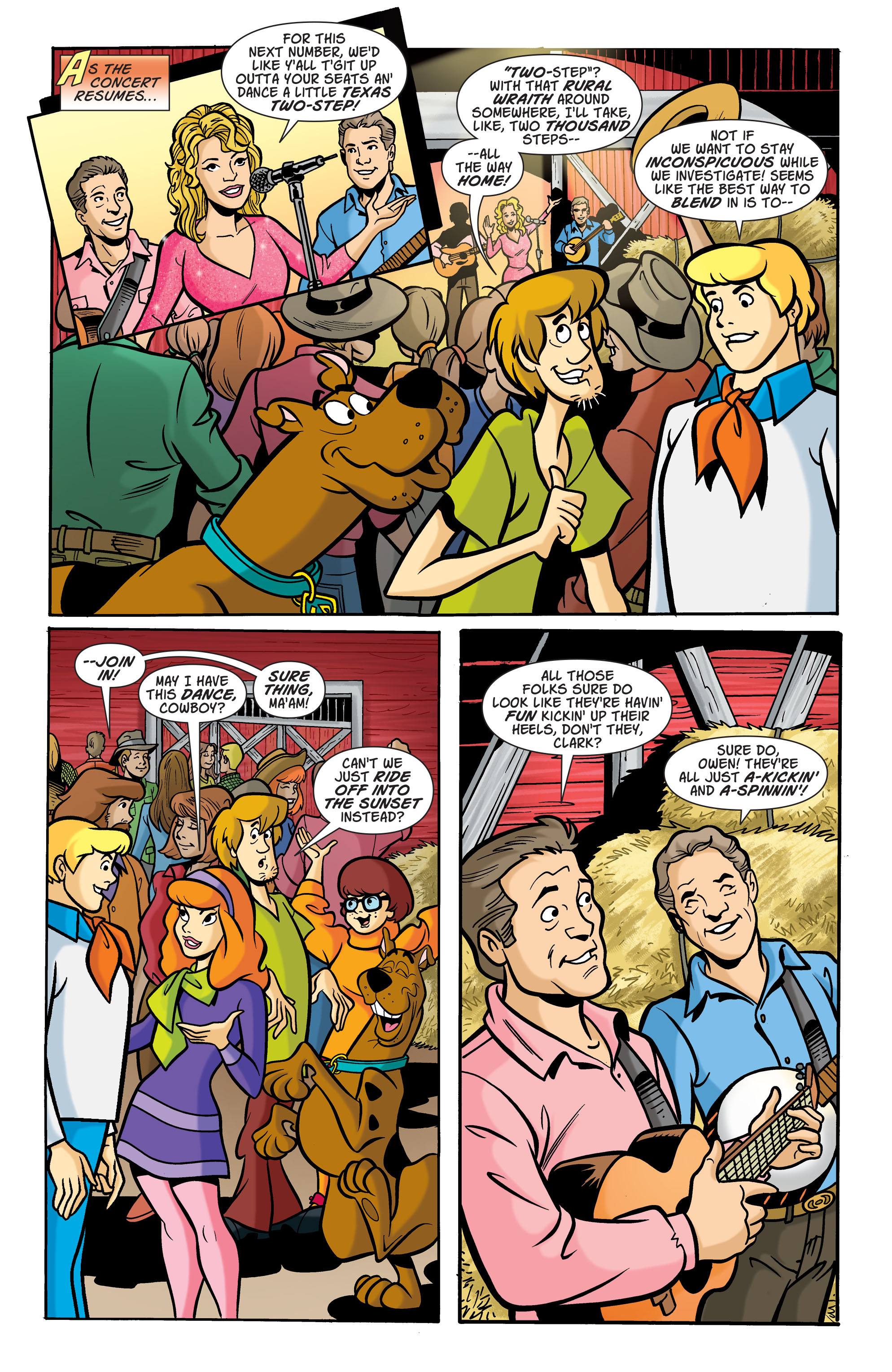Read online Scooby-Doo: Where Are You? comic -  Issue #72 - 6