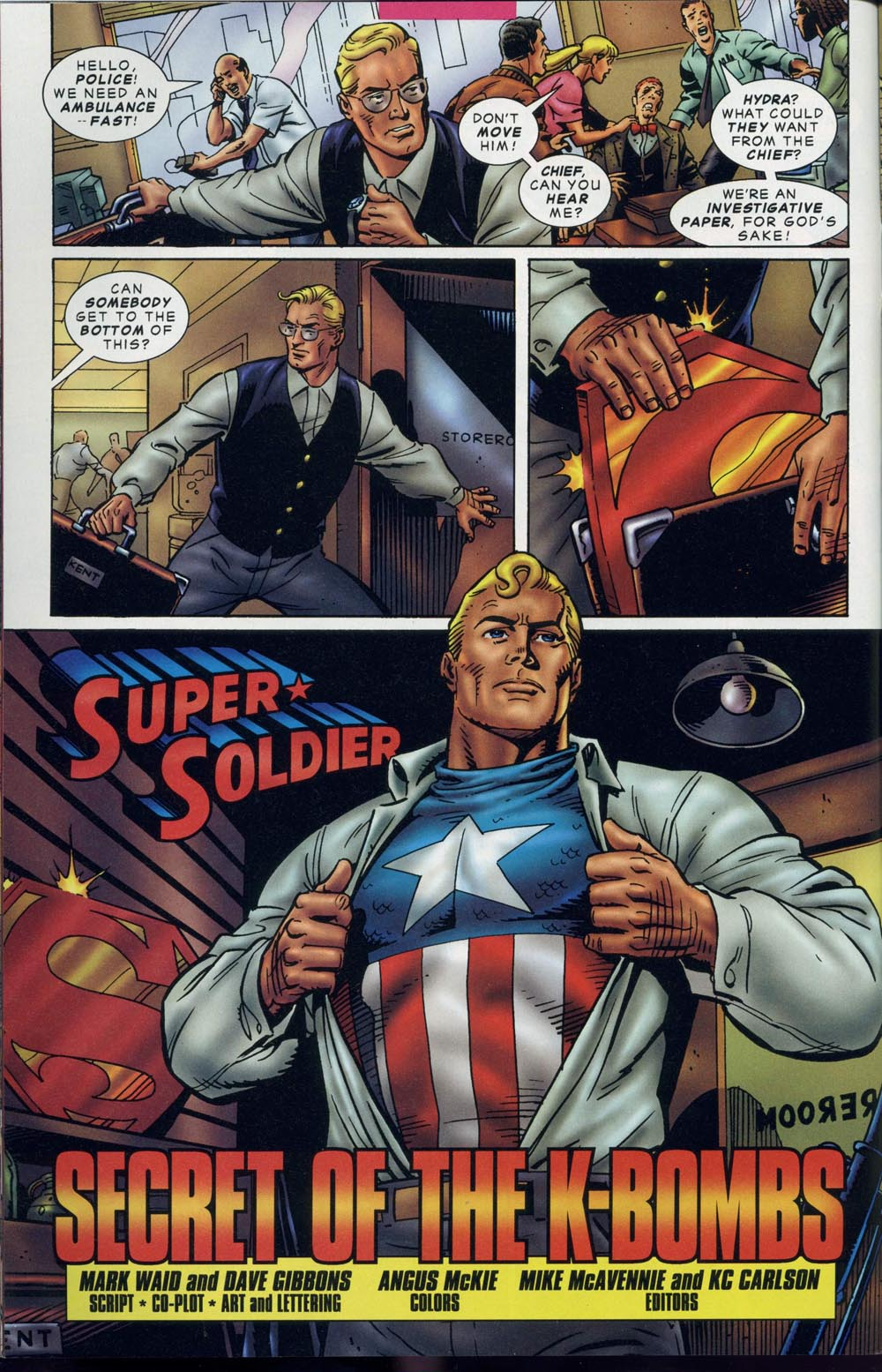 Read online Super Soldier comic -  Issue # Full - 7