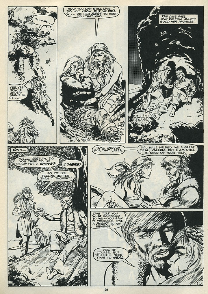 The Savage Sword Of Conan Issue #172 #173 - English 30