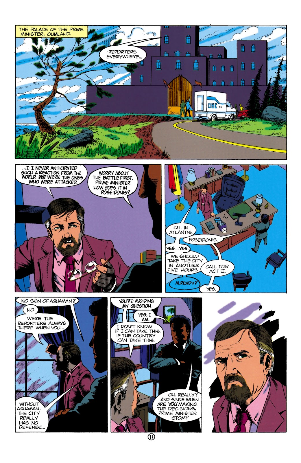 Aquaman (1991) Issue #1 #1 - English 11