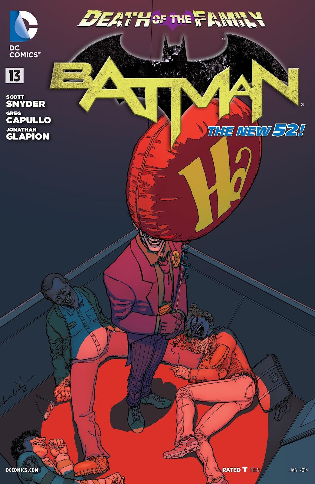 Batman (2011) Issue #13 #28 - English 36