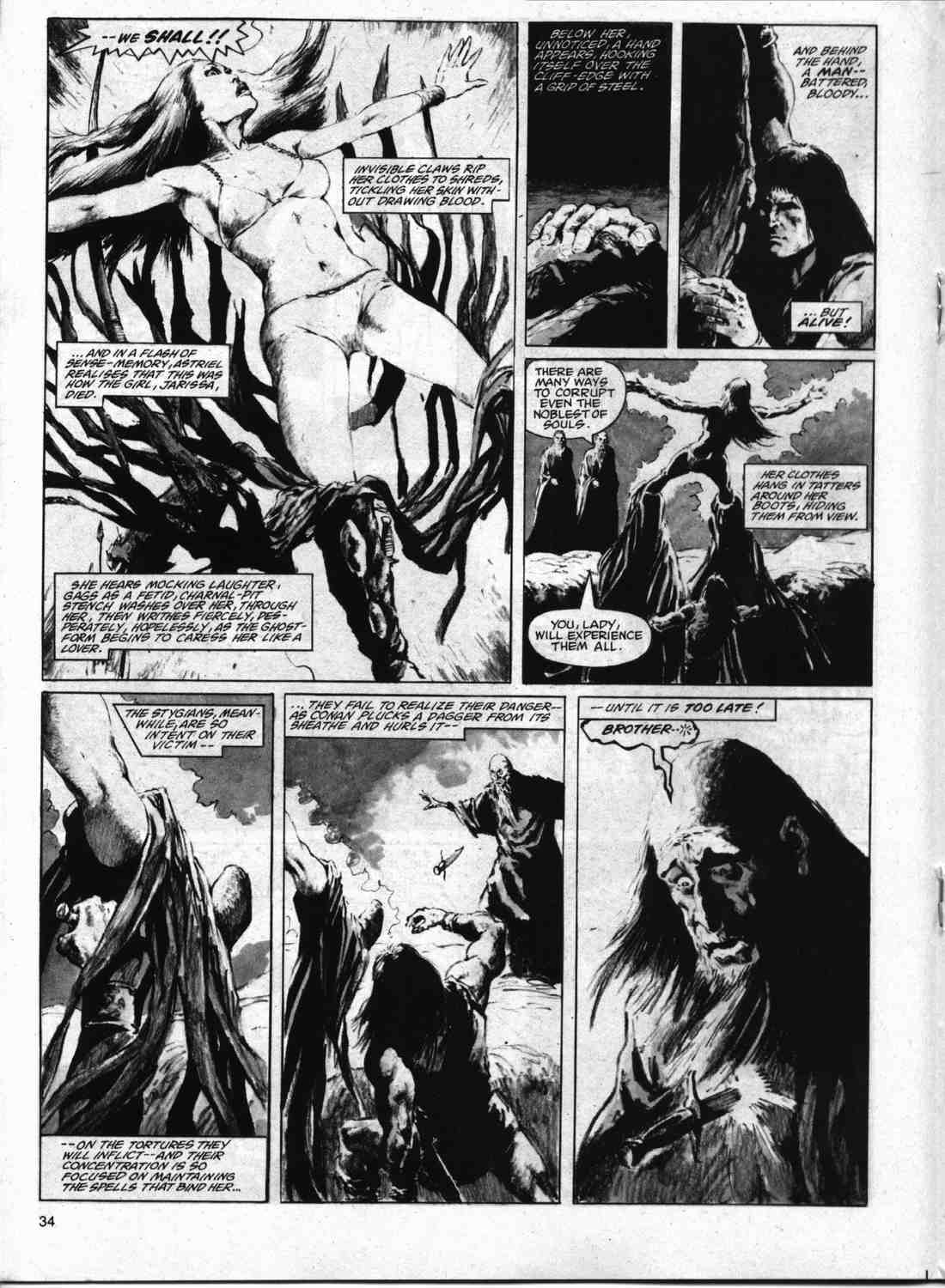The Savage Sword Of Conan Issue #74 #75 - English 33