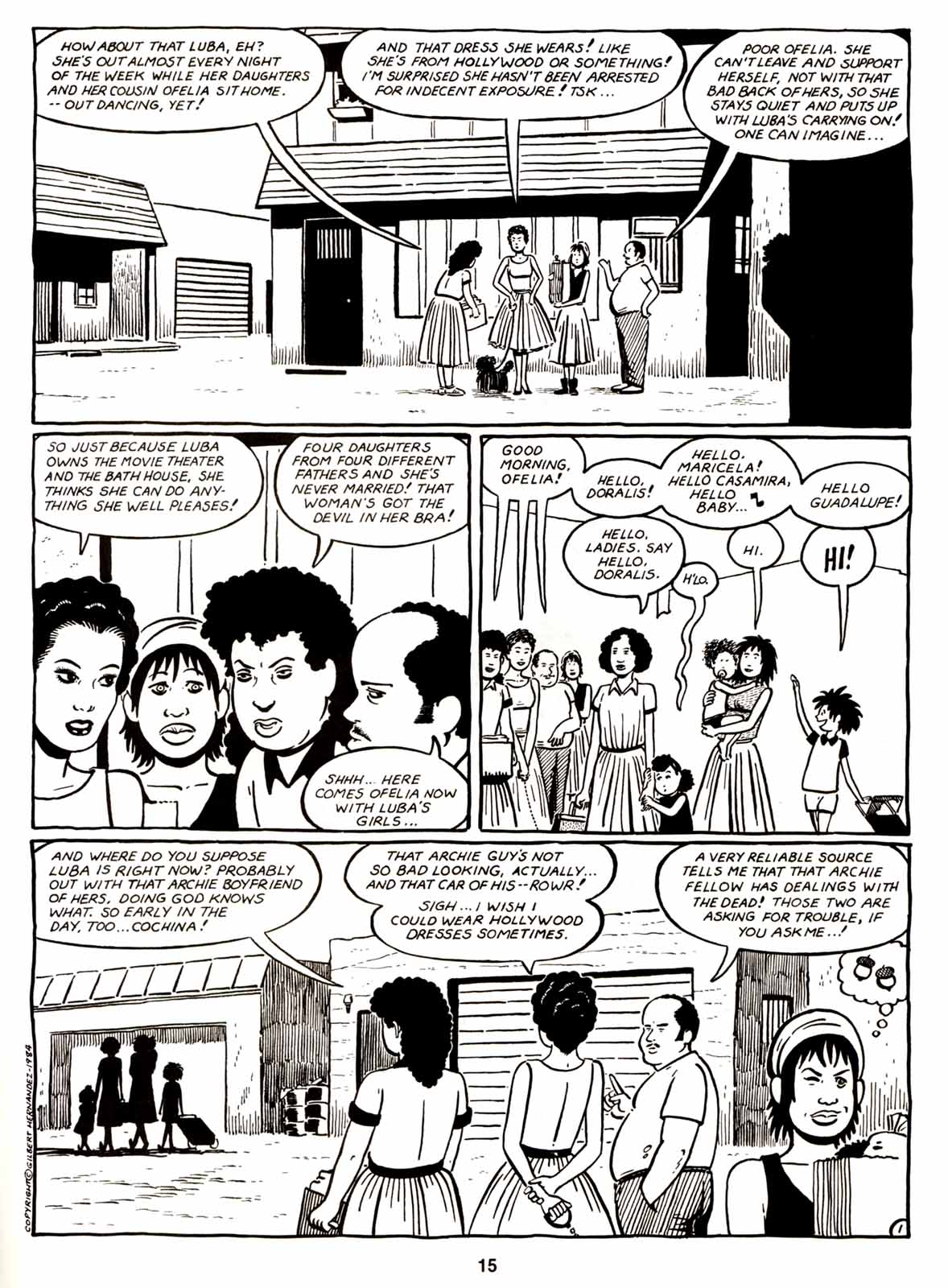 Love and Rockets (1982) Issue #6 #5 - English 17