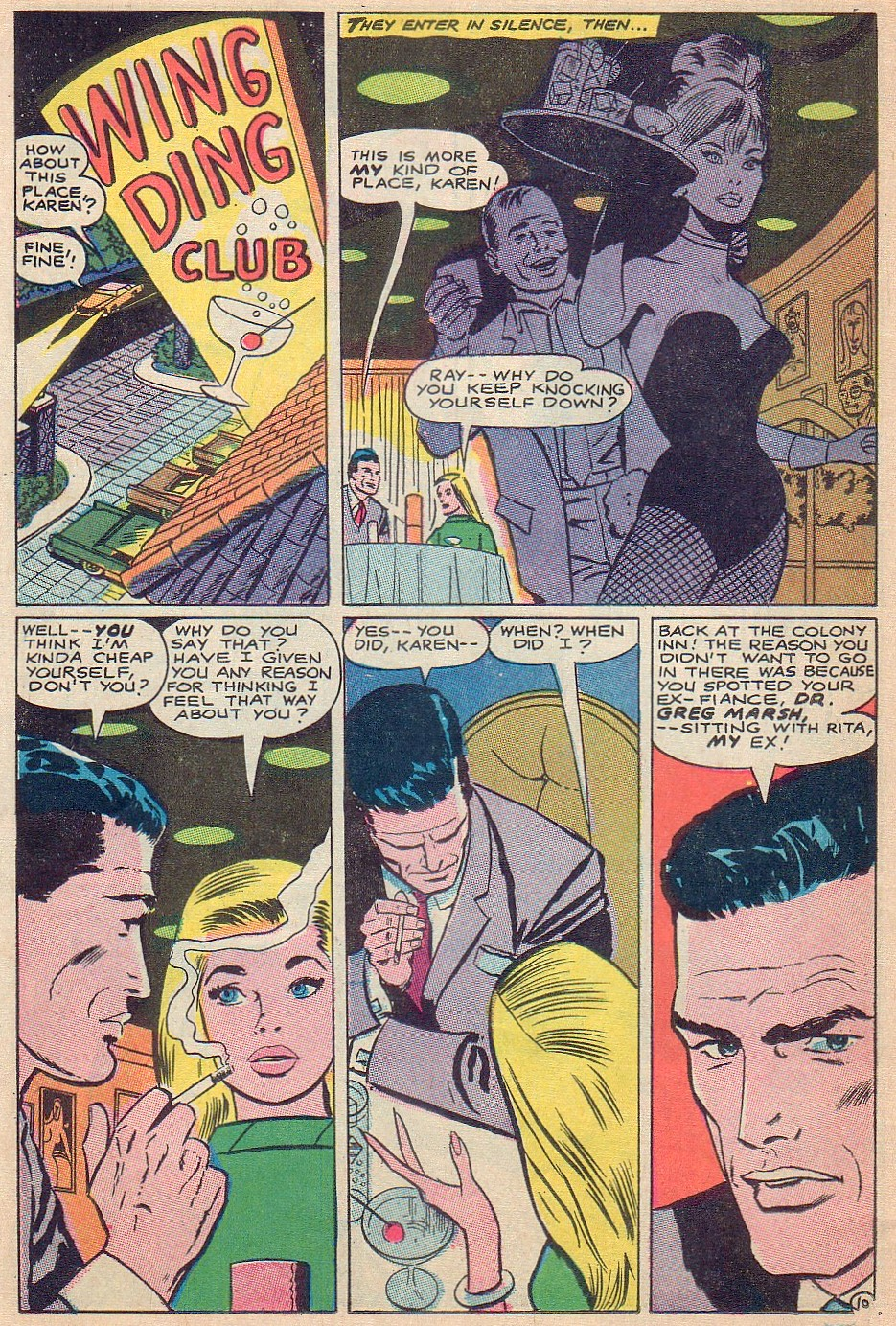 Read online Secret Hearts comic -  Issue #124 - 26