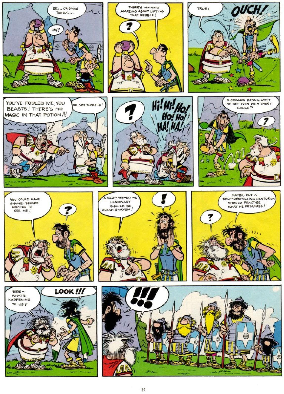 Asterix #1 #38 - English 39