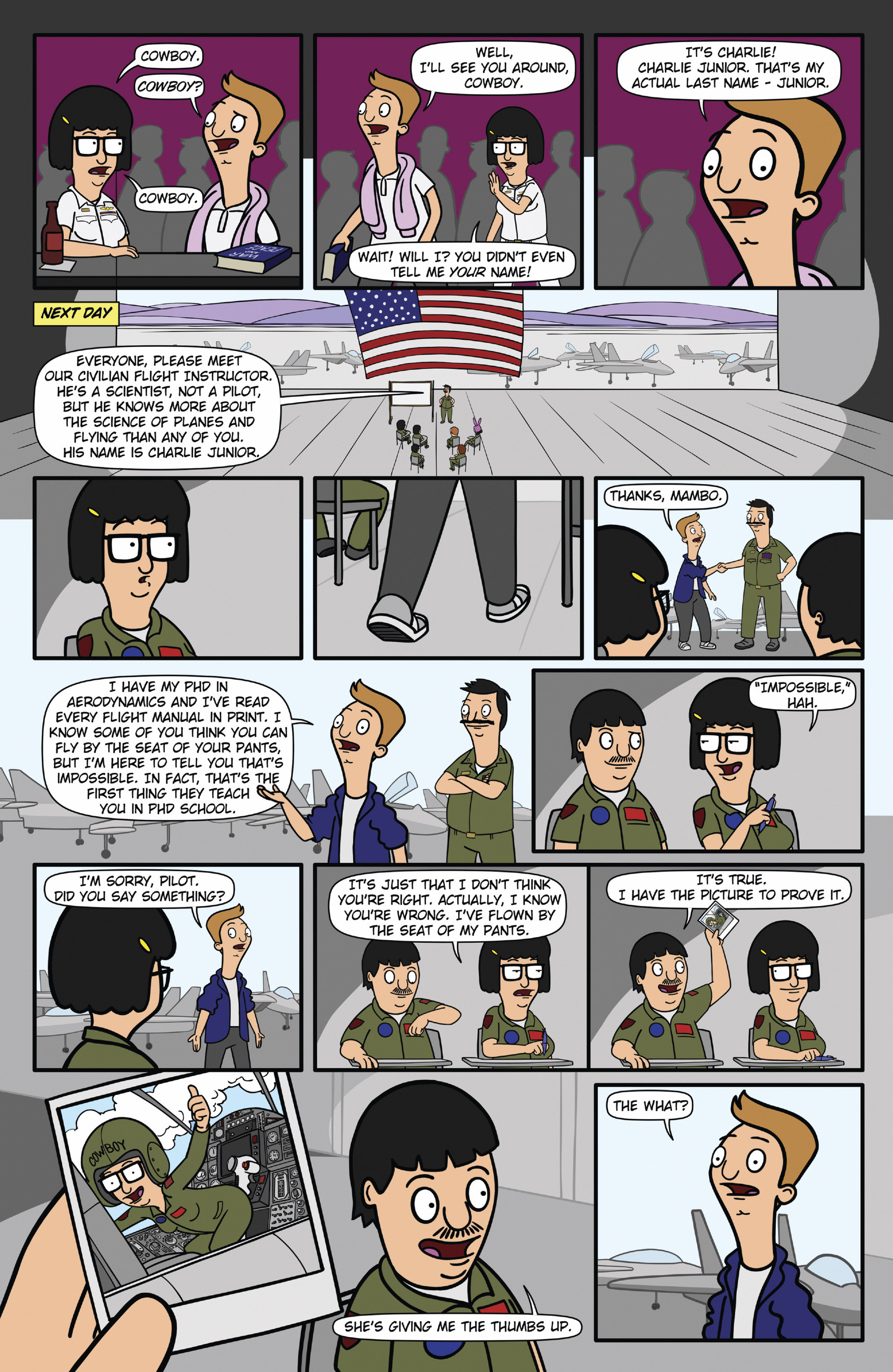 Read online Bob's Burgers (2015) comic -  Issue #12 - 5