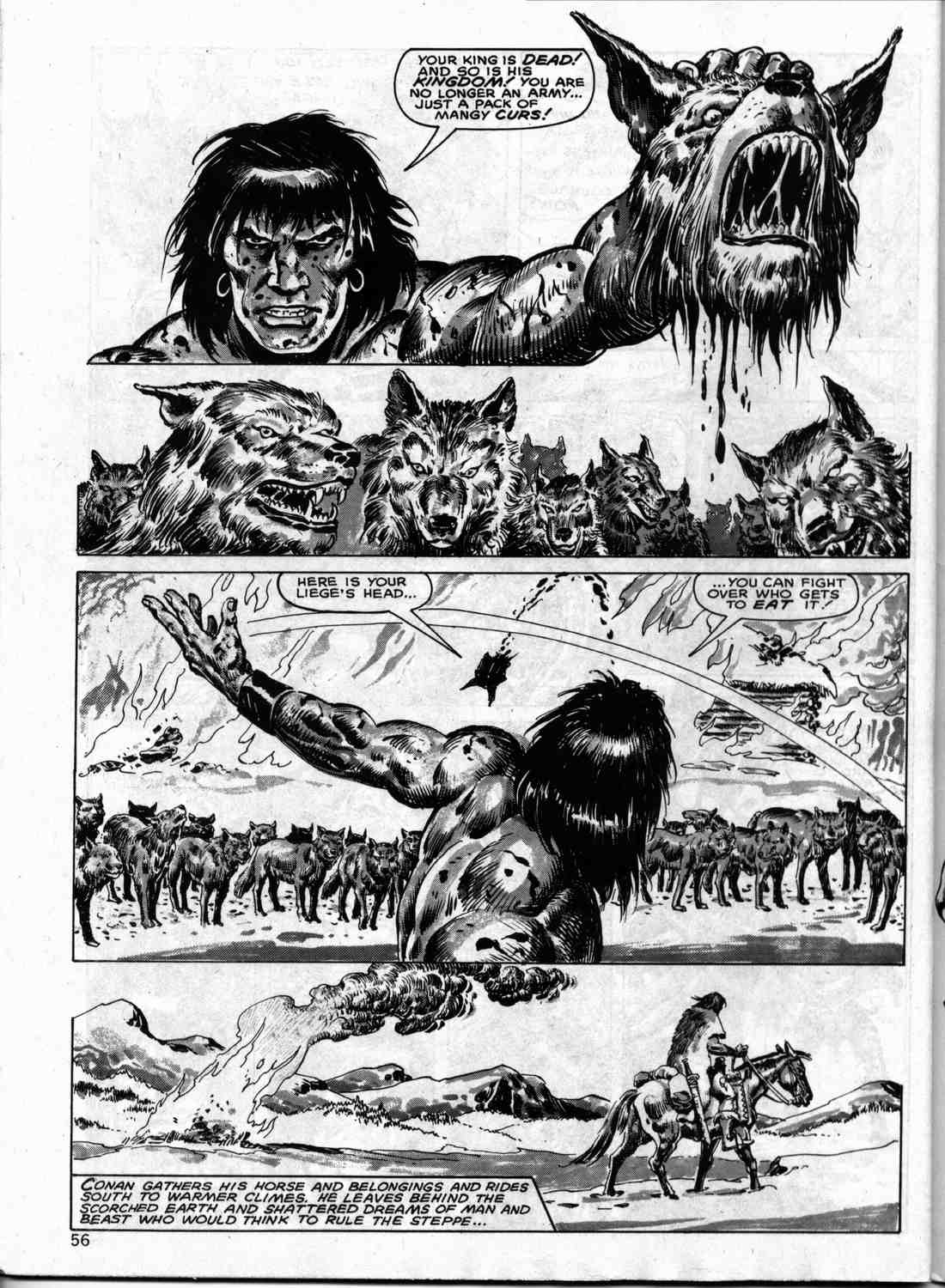 The Savage Sword Of Conan Issue #133 #134 - English 55