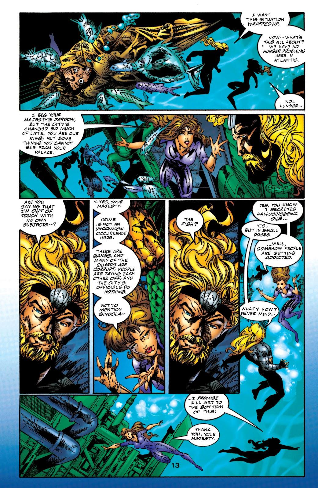 Aquaman (1994) Issue #53 #59 - English 14