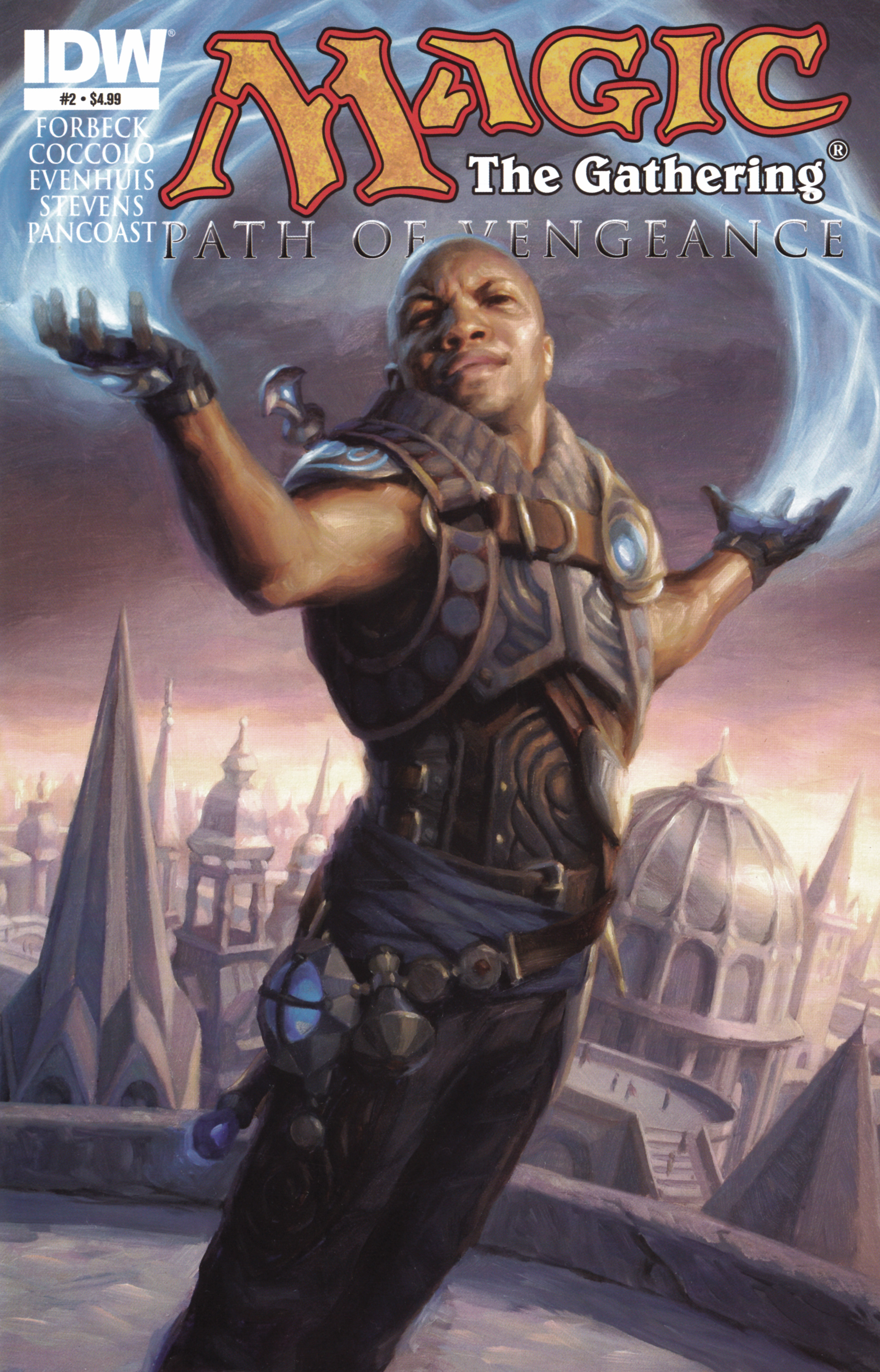 Read online Magic: The Gathering--Path of Vengeance comic -  Issue #2 - 1