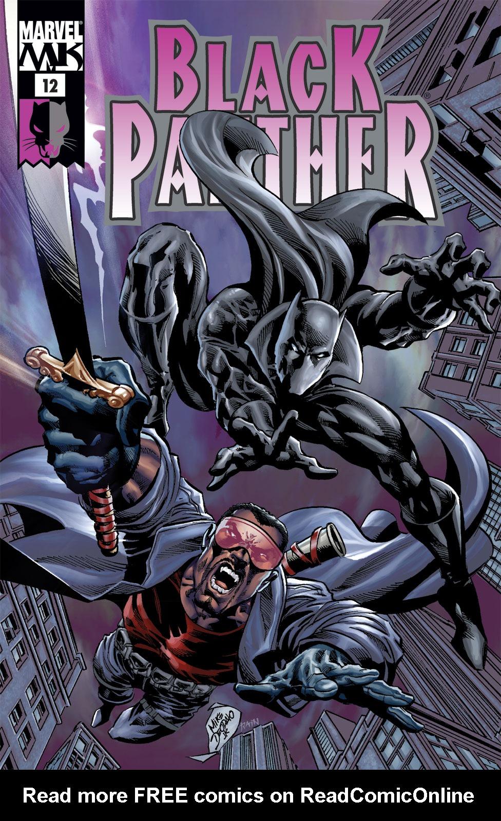 Black Panther (2005) 12 Page 1