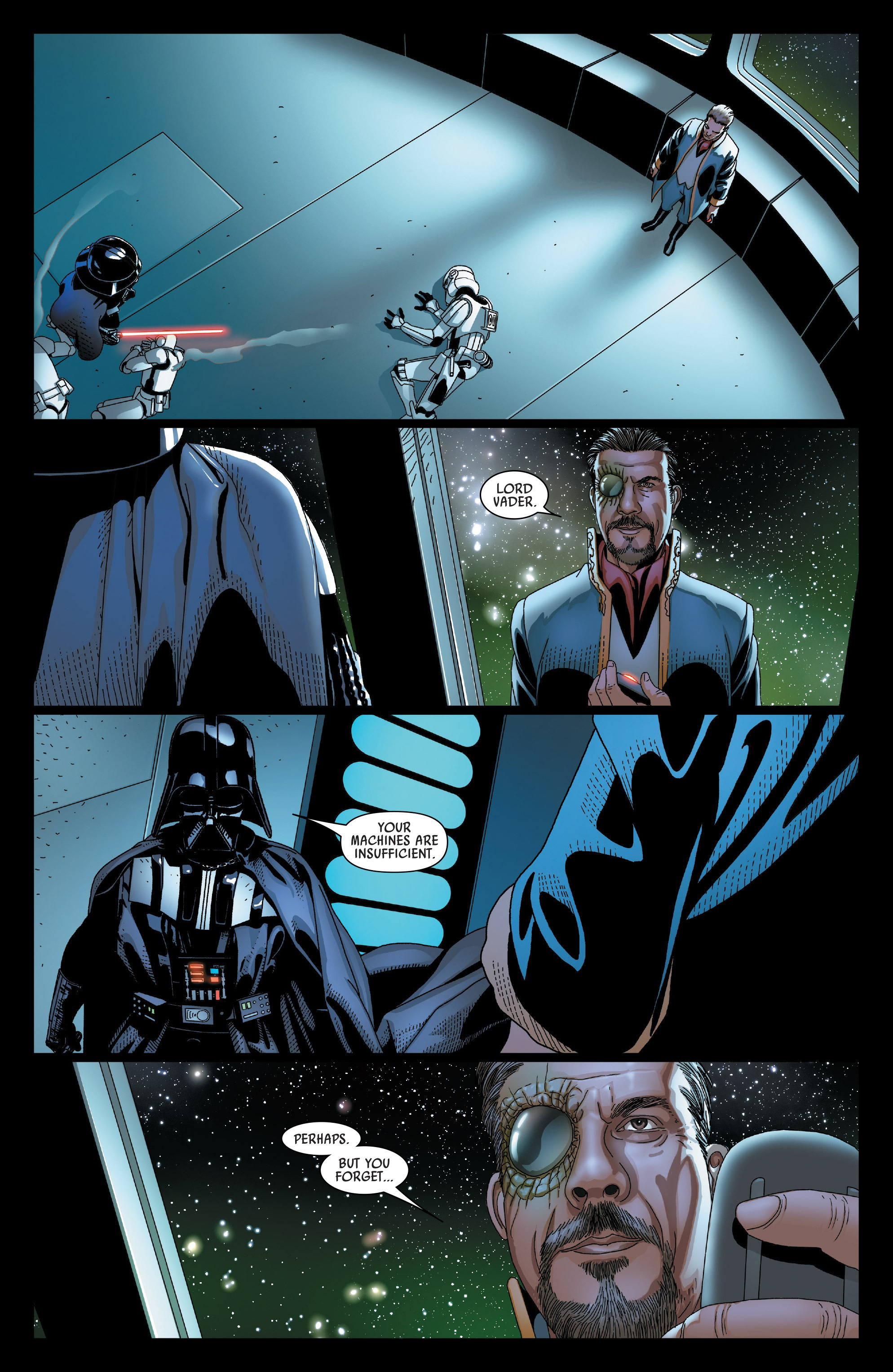 Read online Darth Vader comic -  Issue #23 - 19
