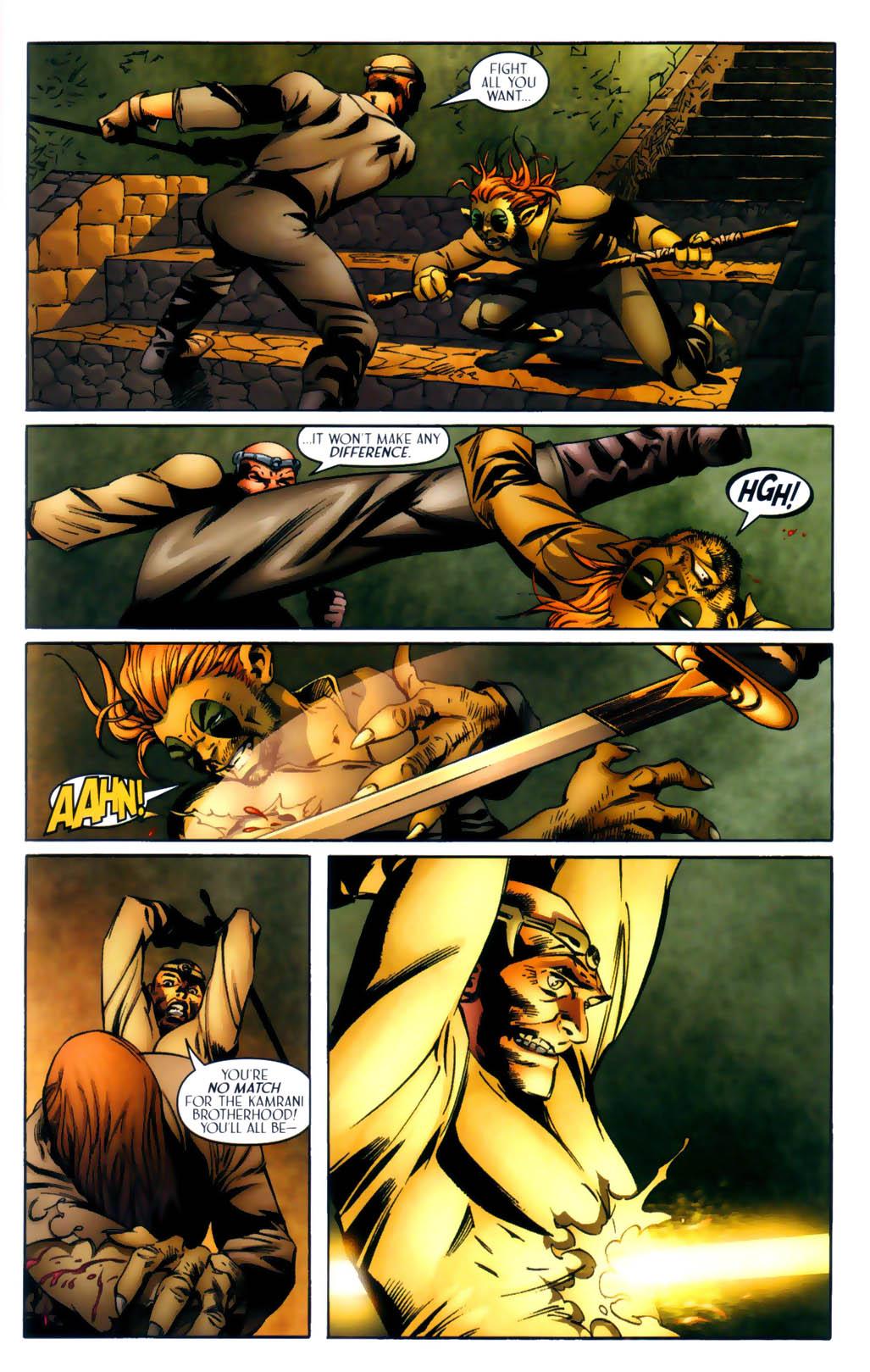 Read online Scion comic -  Issue #30 - 9