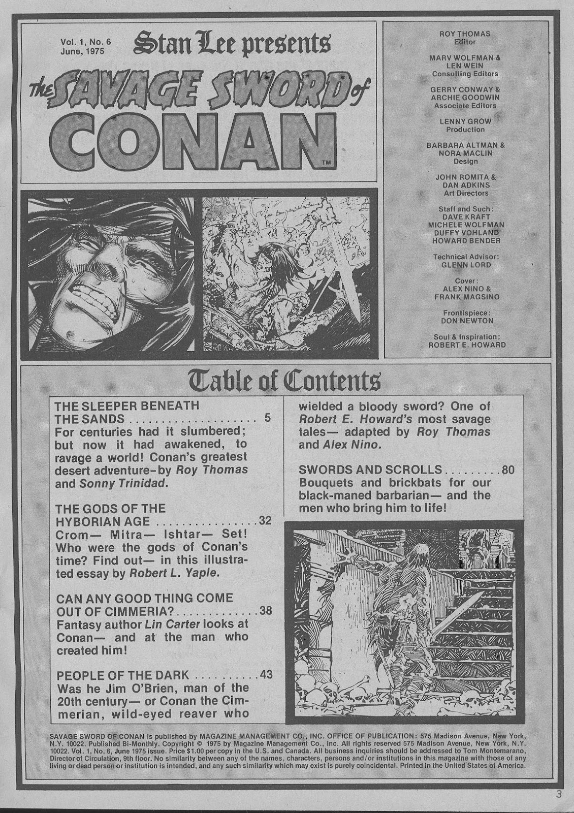 The Savage Sword Of Conan Issue #6 #7 - English 3