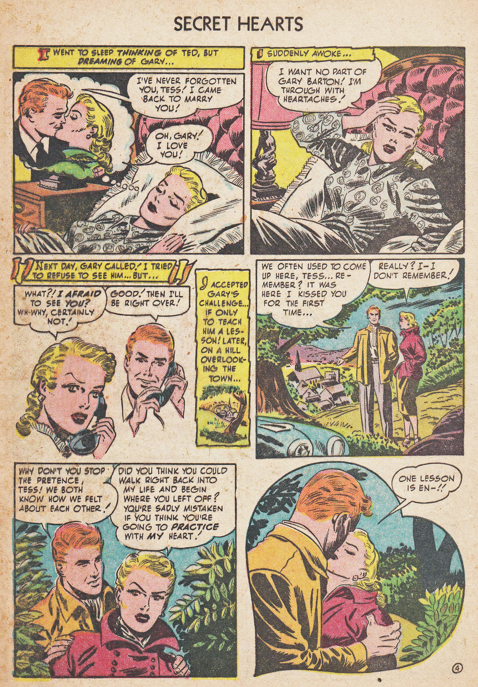 Read online Secret Hearts comic -  Issue #7 - 6