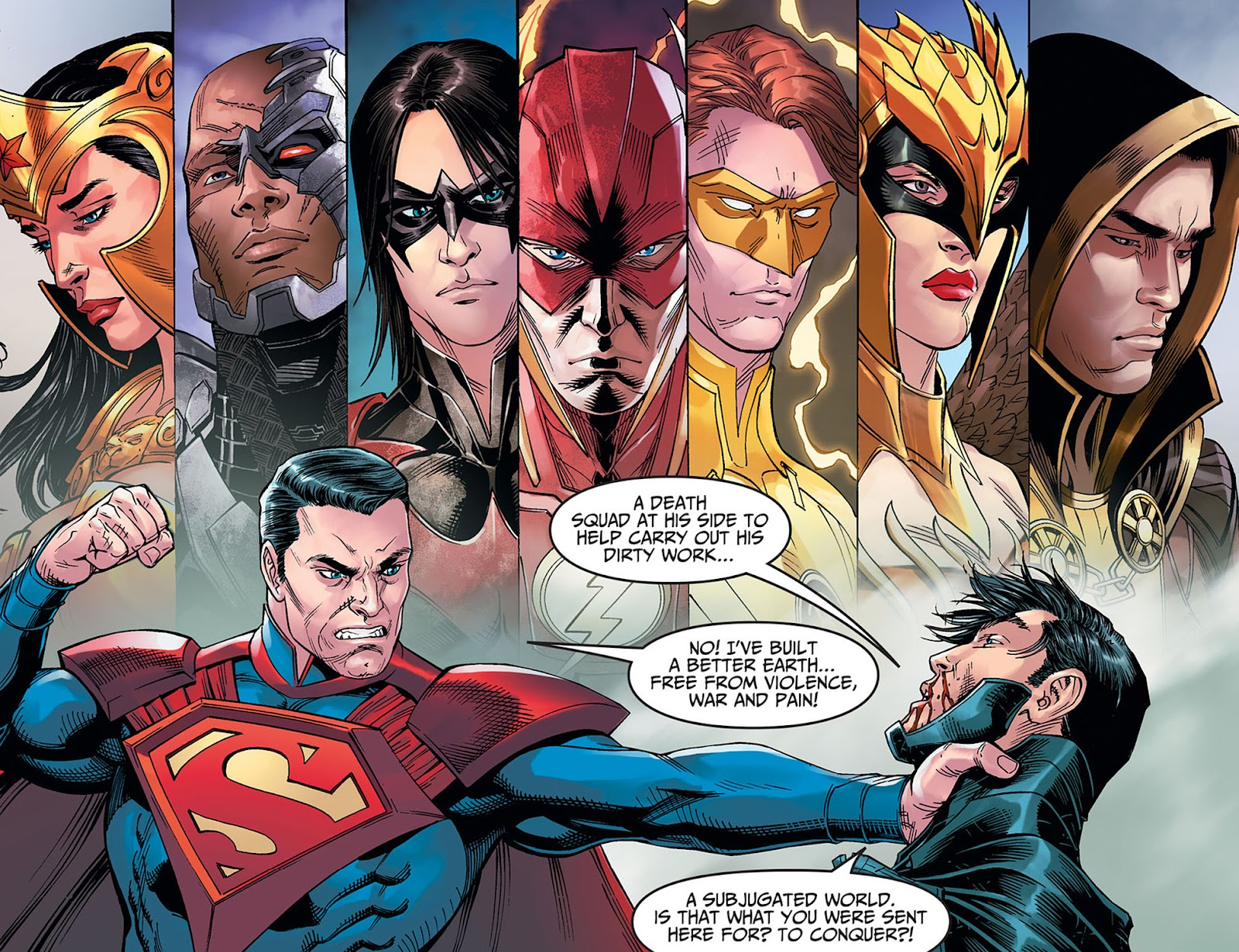 Injustice: Gods Among Us: Year Five Issue #40 #41 - English 14