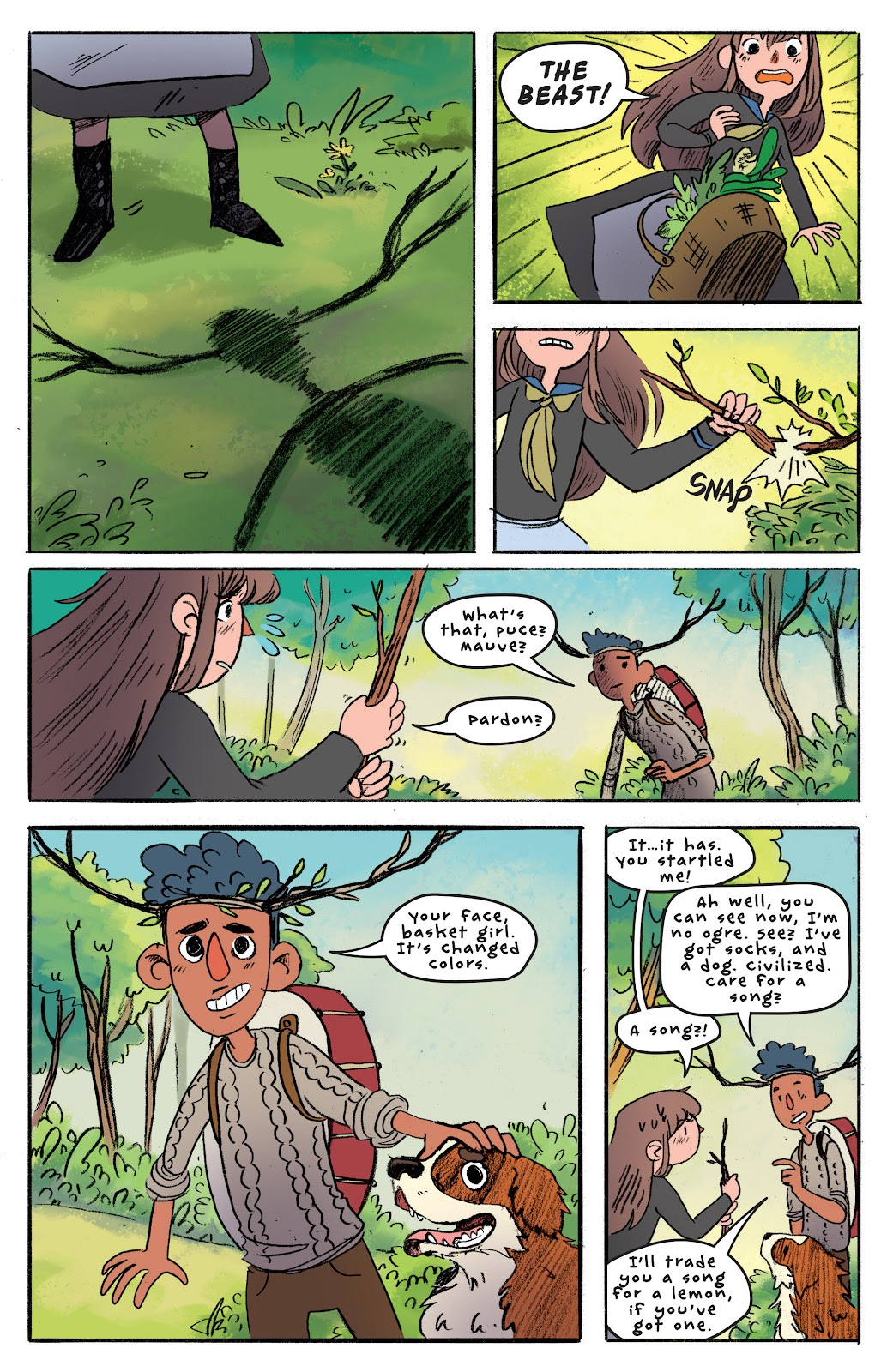 Over the Garden Wall (2016) Issue #4 #4 - English 15