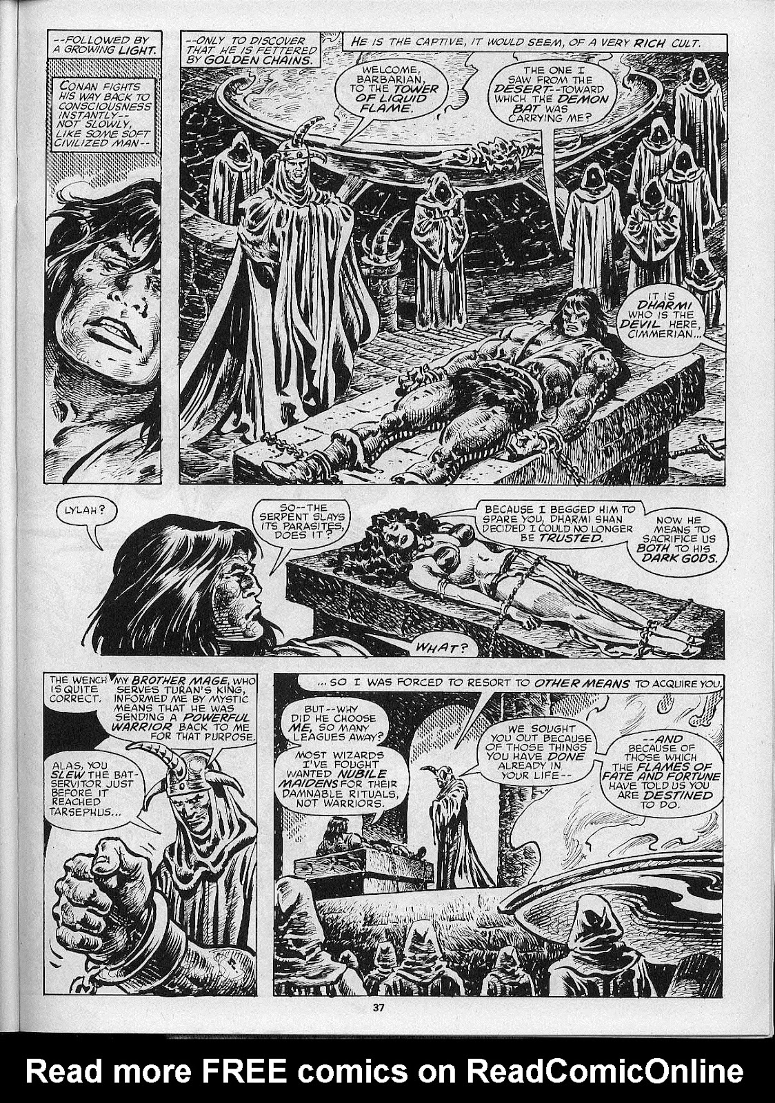 The Savage Sword Of Conan Issue #200 #201 - English 39