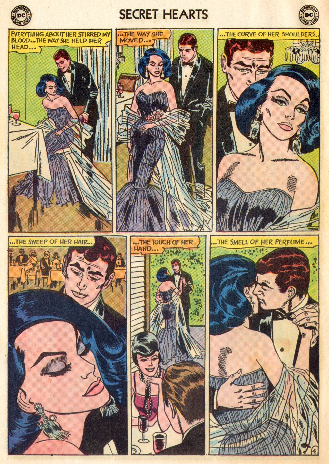 Read online Secret Hearts comic -  Issue #84 - 6