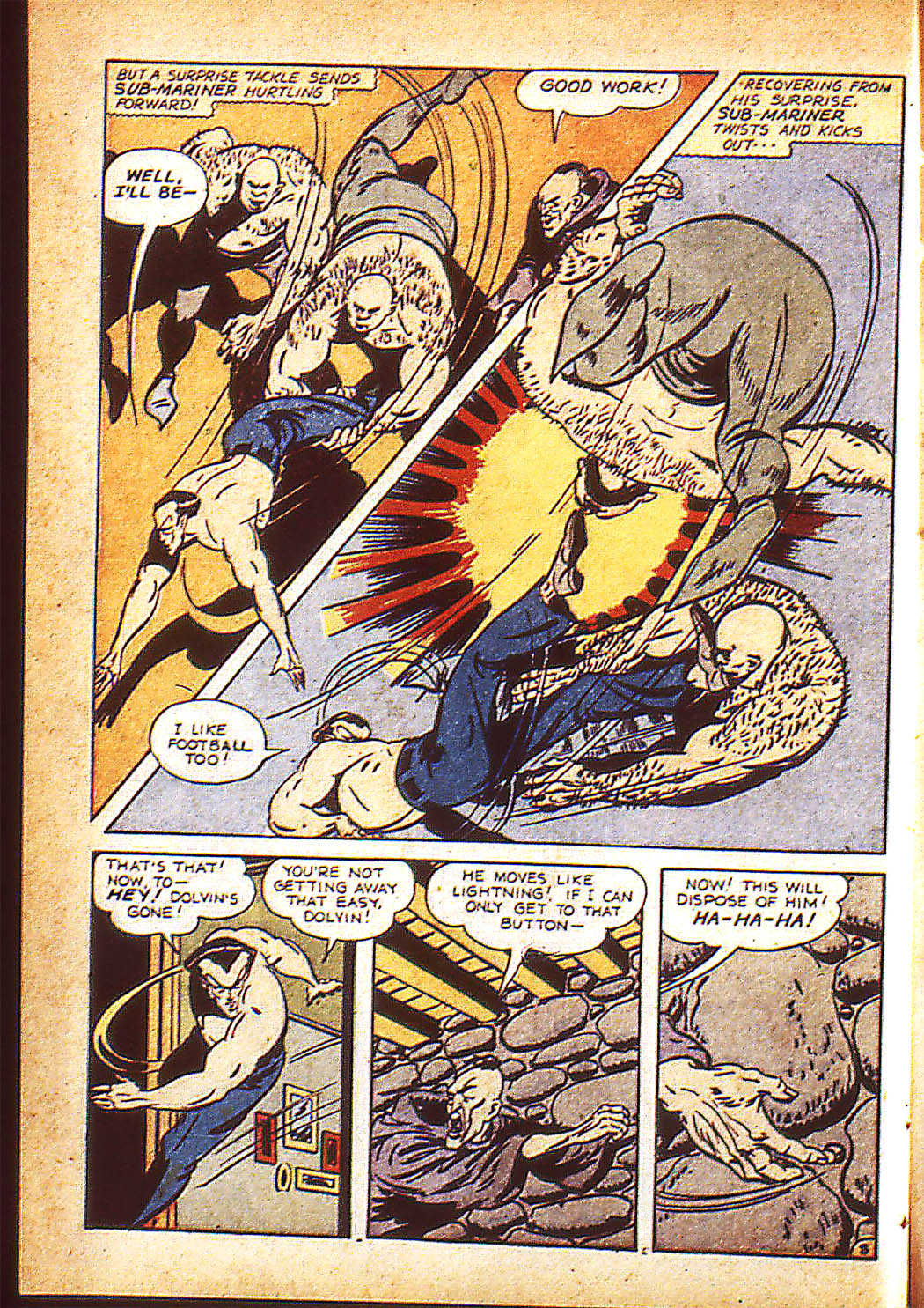 Sub-Mariner Comics Issue #10 #10 - English 11