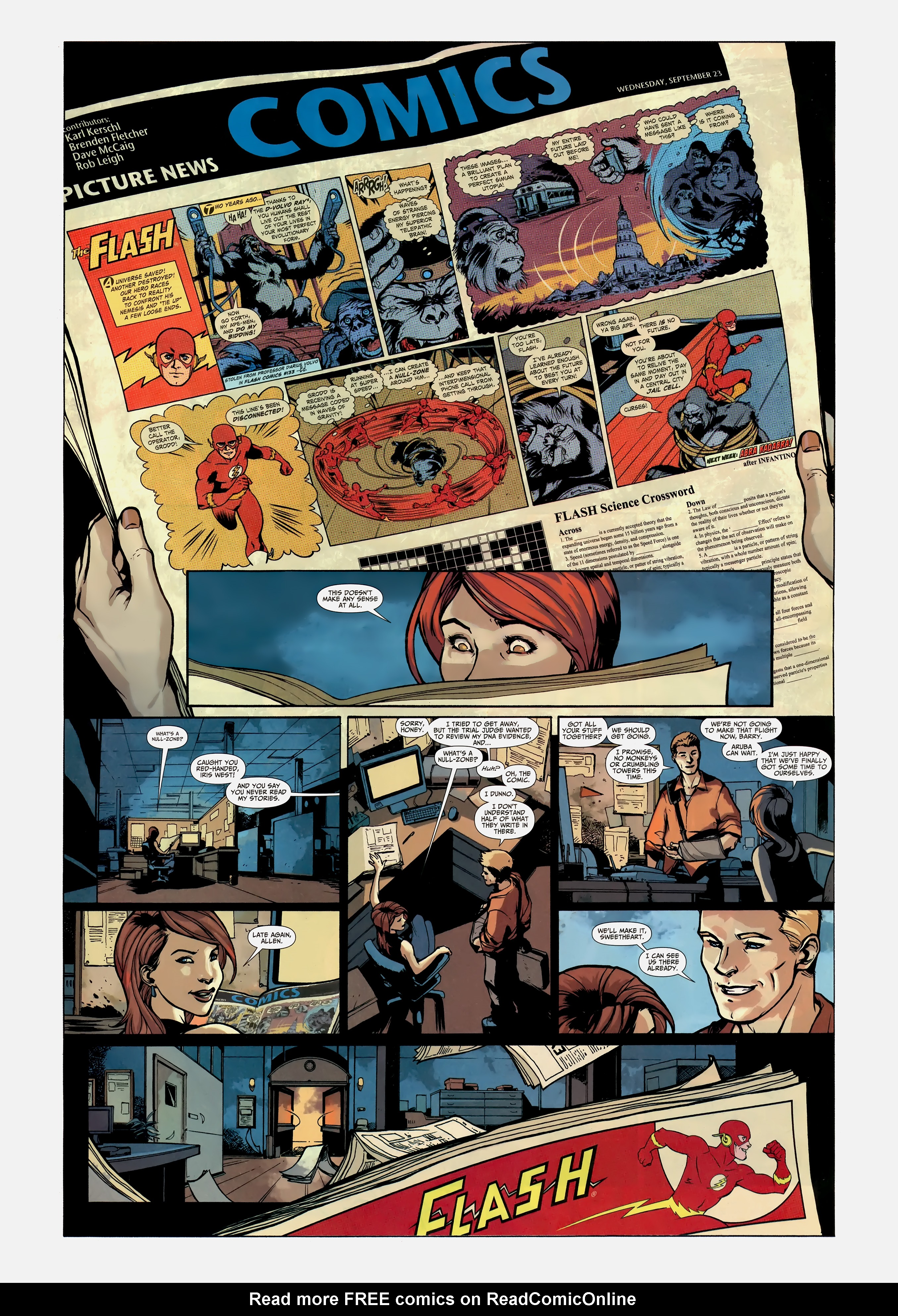 Read online Wednesday Comics comic -  Issue #12 - 14