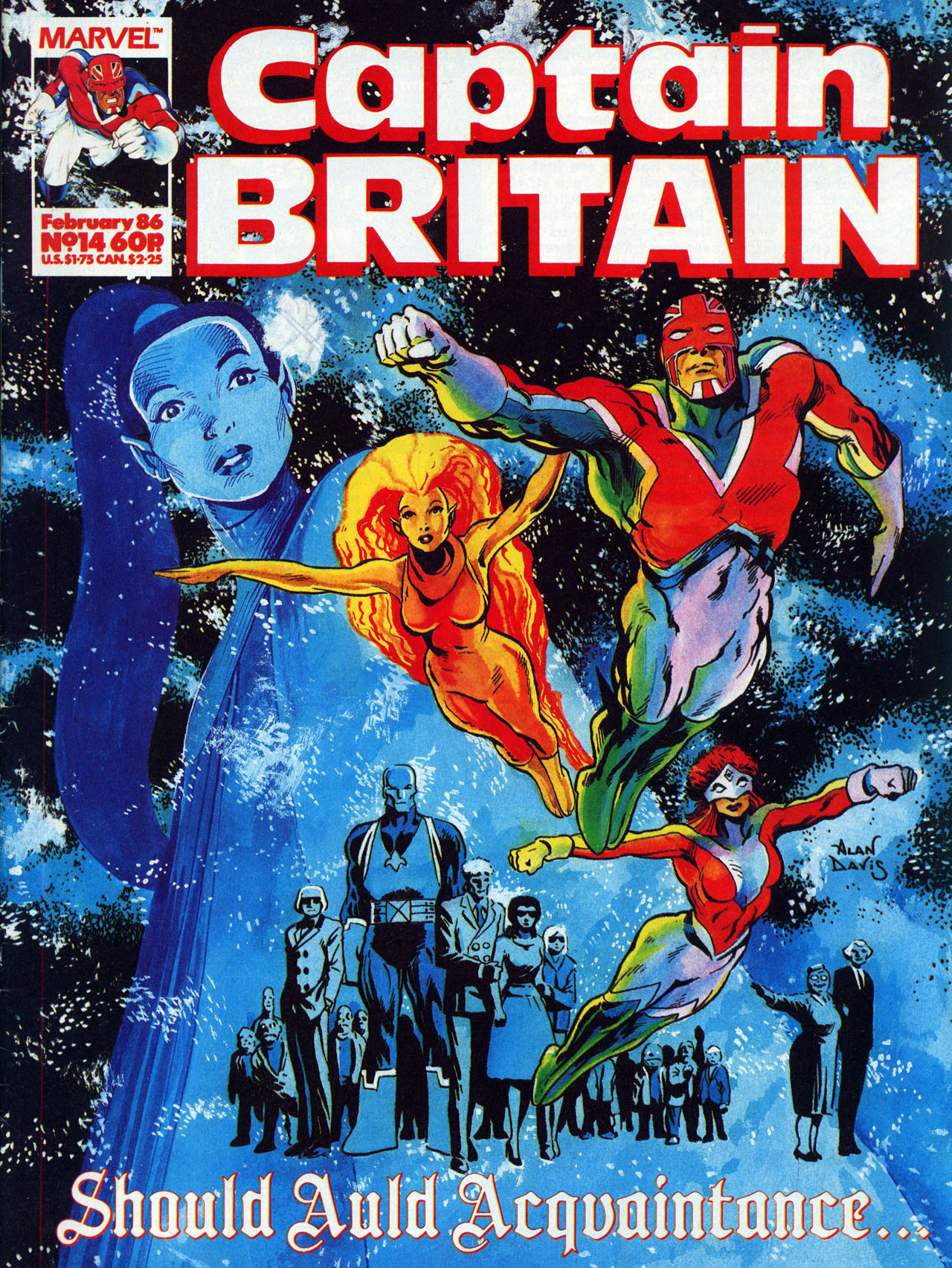 Captain Britain (1985) 14 Page 1