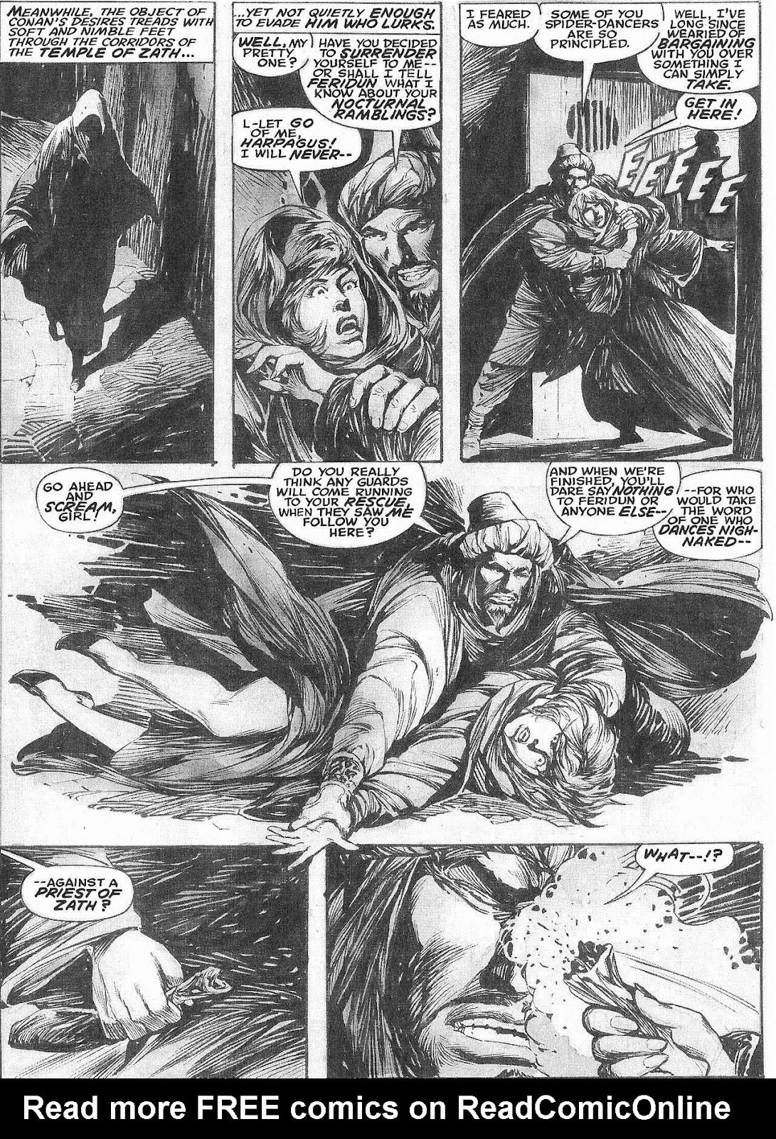 The Savage Sword Of Conan Issue #209 #210 - English 22