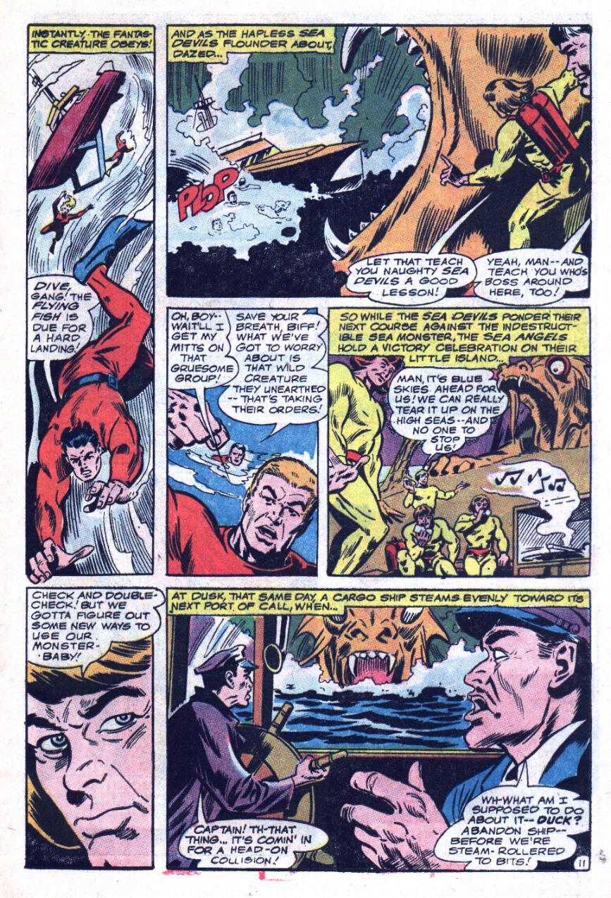 Read online Sea Devils comic -  Issue #34 - 18